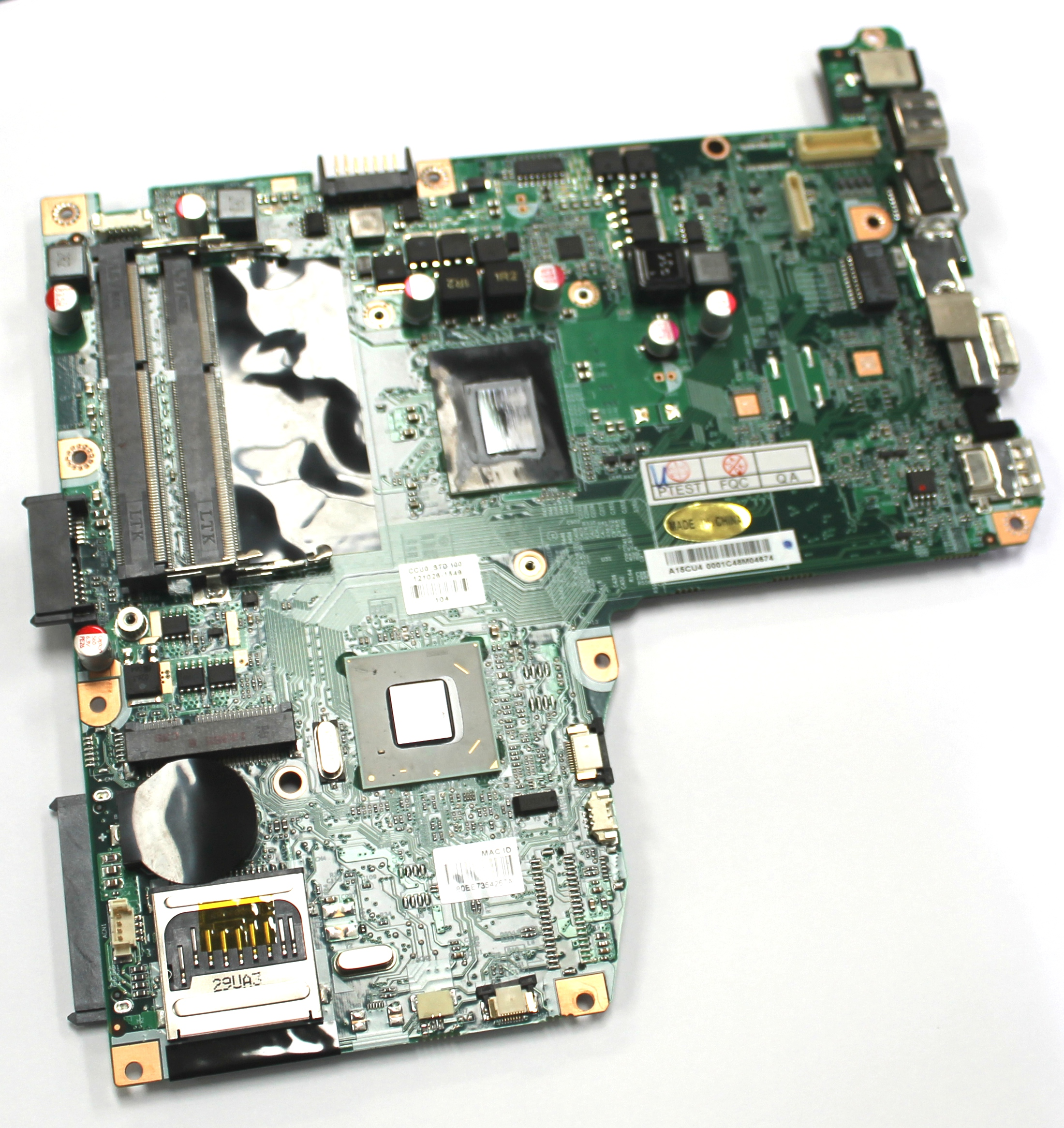 Advent A15CU4 Monza V200 Laptop Motherboard with BGA Intel SR08N Processor