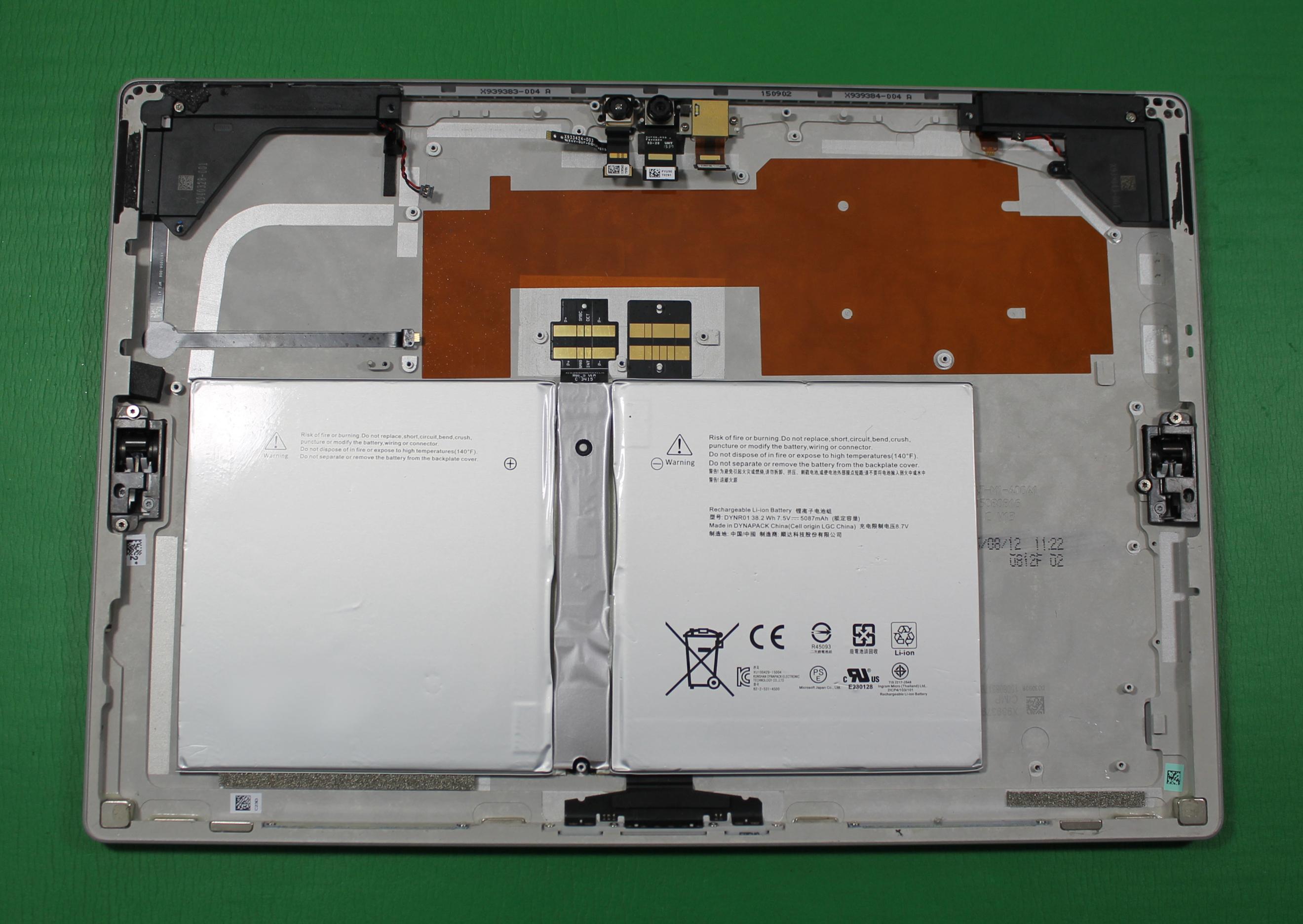 microsoft surface pro 4 1724 128gb battery x910528 008. Black Bedroom Furniture Sets. Home Design Ideas