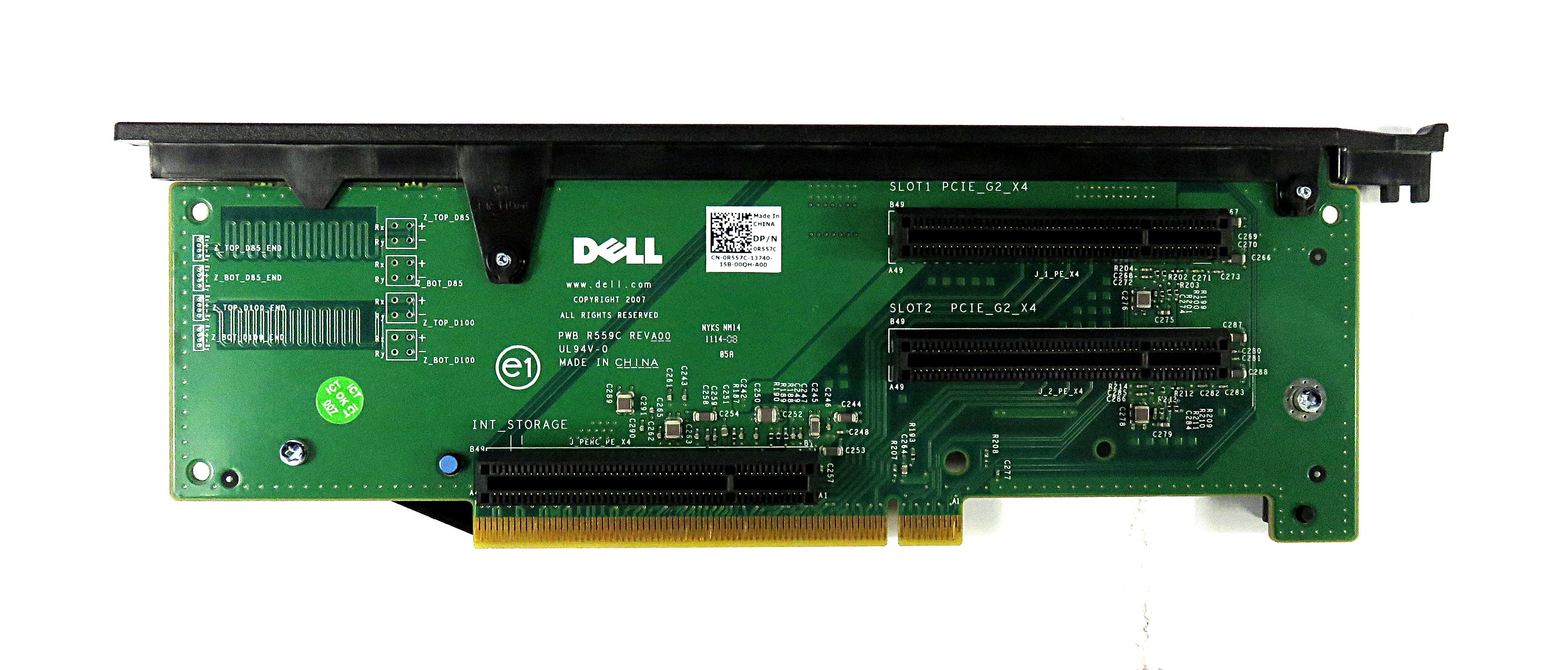 Dell R557C PCIe Riser Board f/ PowerEdge R710
