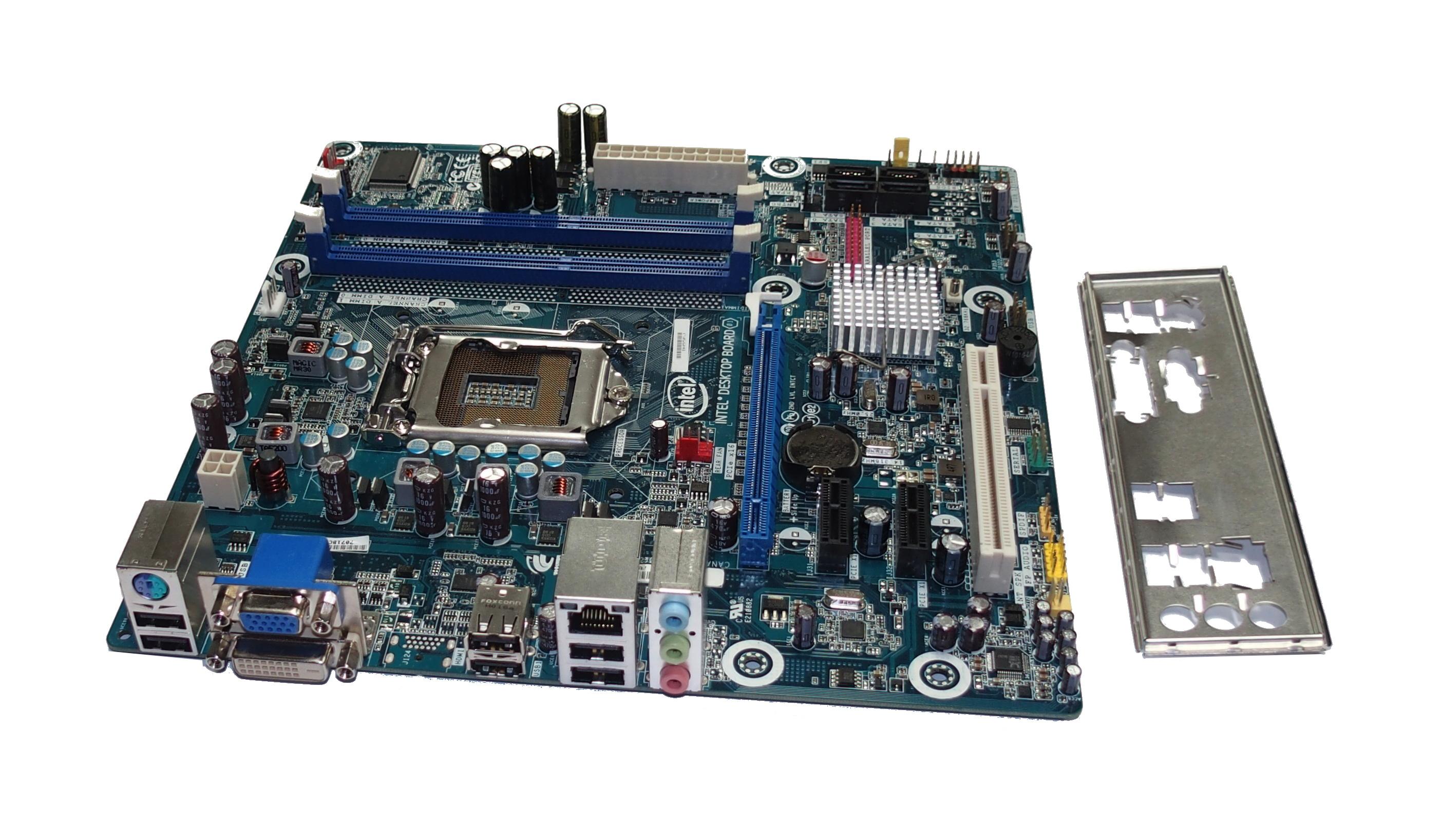 Intel E93812-301 DH55PJ Socket LGA1156 Desktop Motherboard