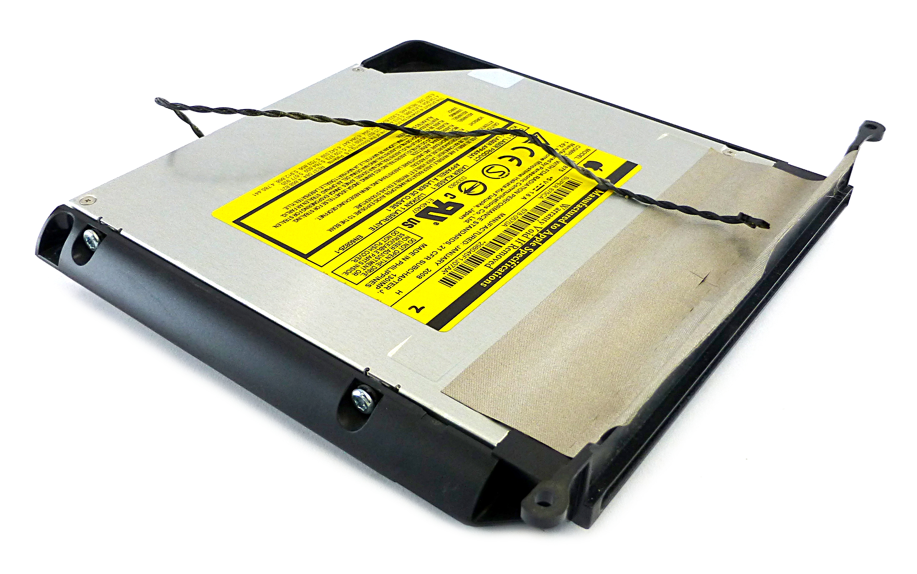 Apple iMac 2008 CD/DVD Superdrive Optical Drive 678-0570A