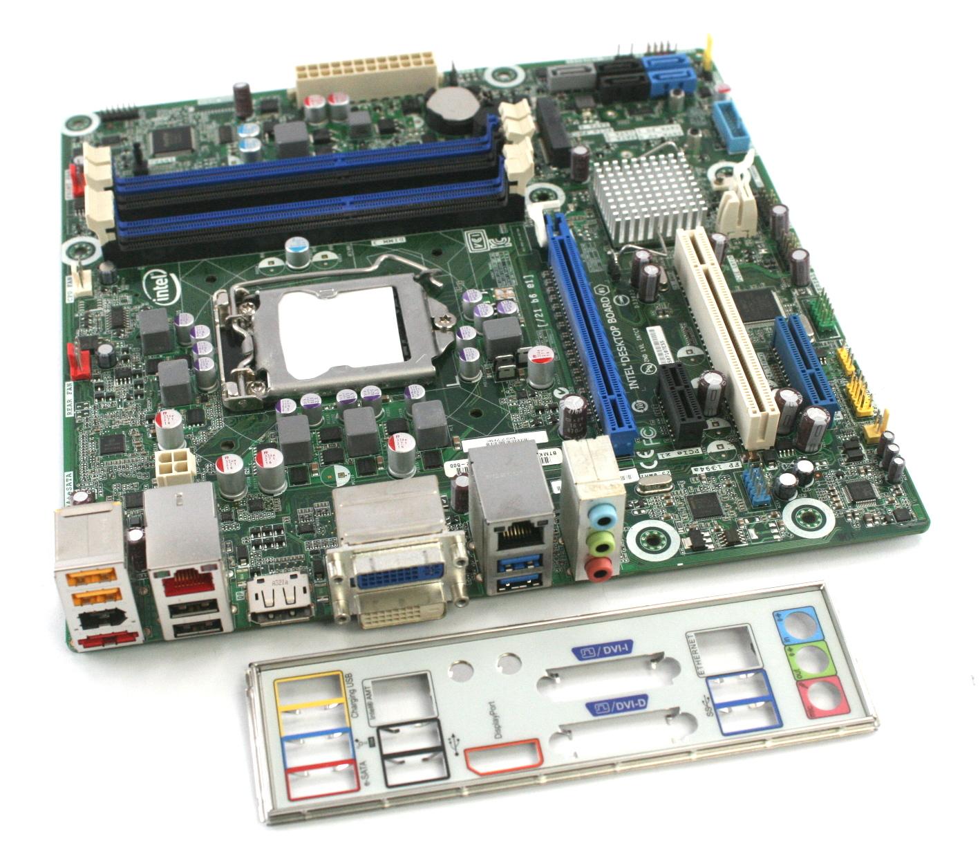Intel Socket Lga1155 Usb30 Desktop Motherboard Matx Dq77mk Fan Lga 1155 Original