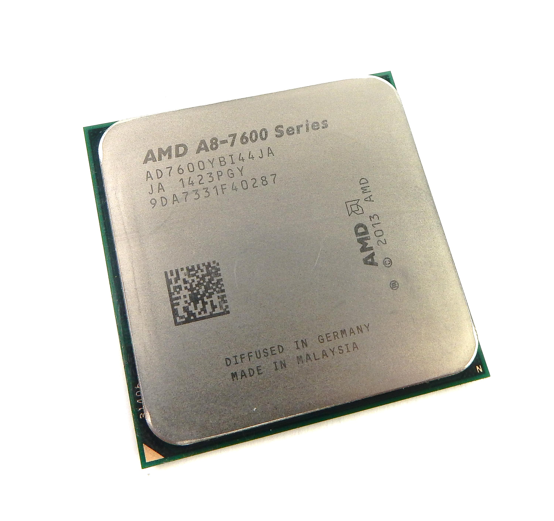 AD7600YBI44JA AMD A8-7600 FM2+ Quad Core 3.1 GHz (3.8 GHz Turbo) CPU