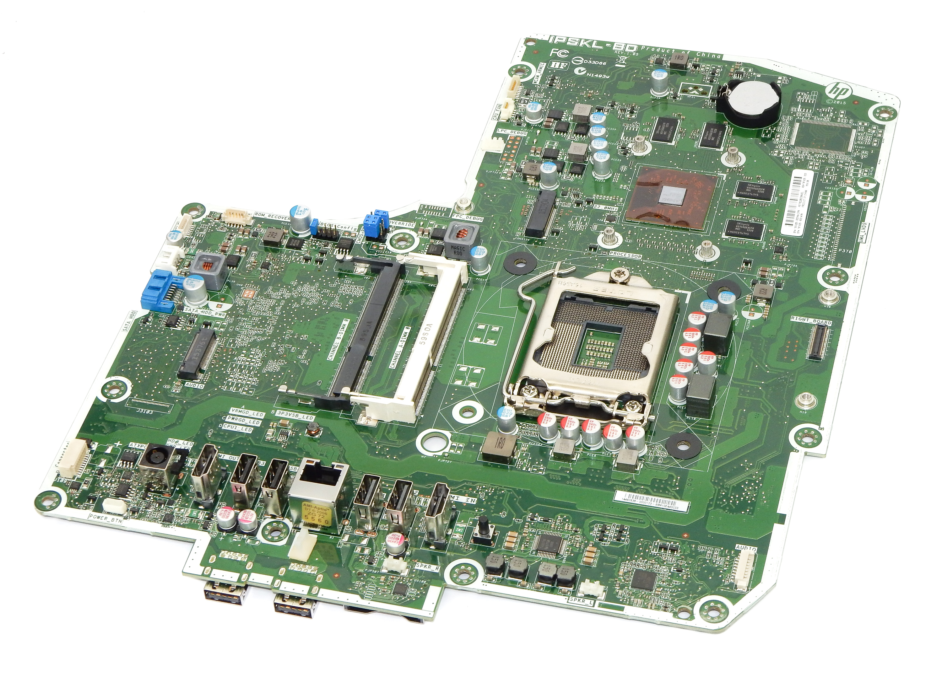 "HP 797425-003 LGA1151 Motherboard IPSKL-BD REV:1.05 f/ Envy 27"" AiO PC"