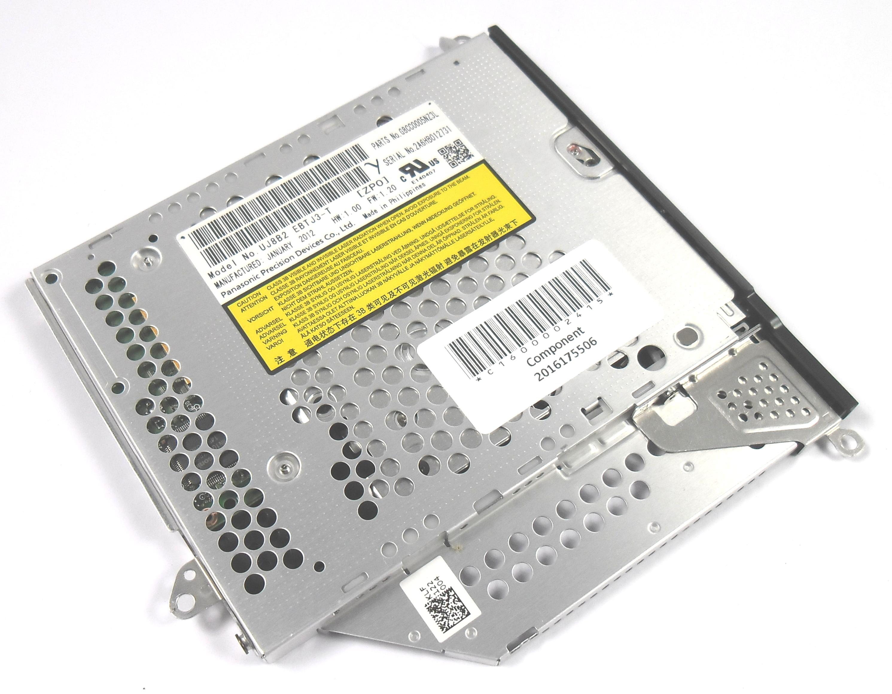 Toshiba G8CC0005NZ3L Portege R830 DVD+/-RW Drive - UJ8B2 EBTJ3-T