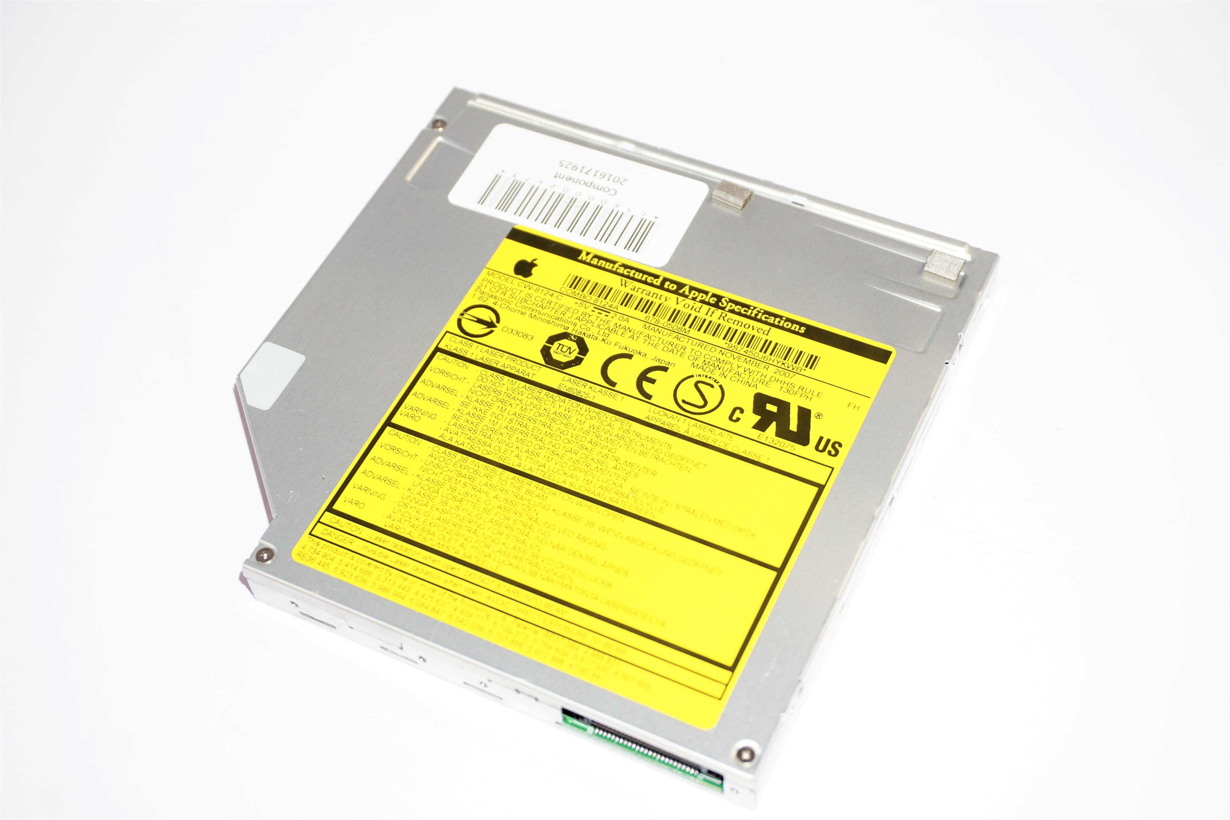 678-0508M Apple Combo 8124A Optical Drive /f Mac Mini A1176 EMC:2108