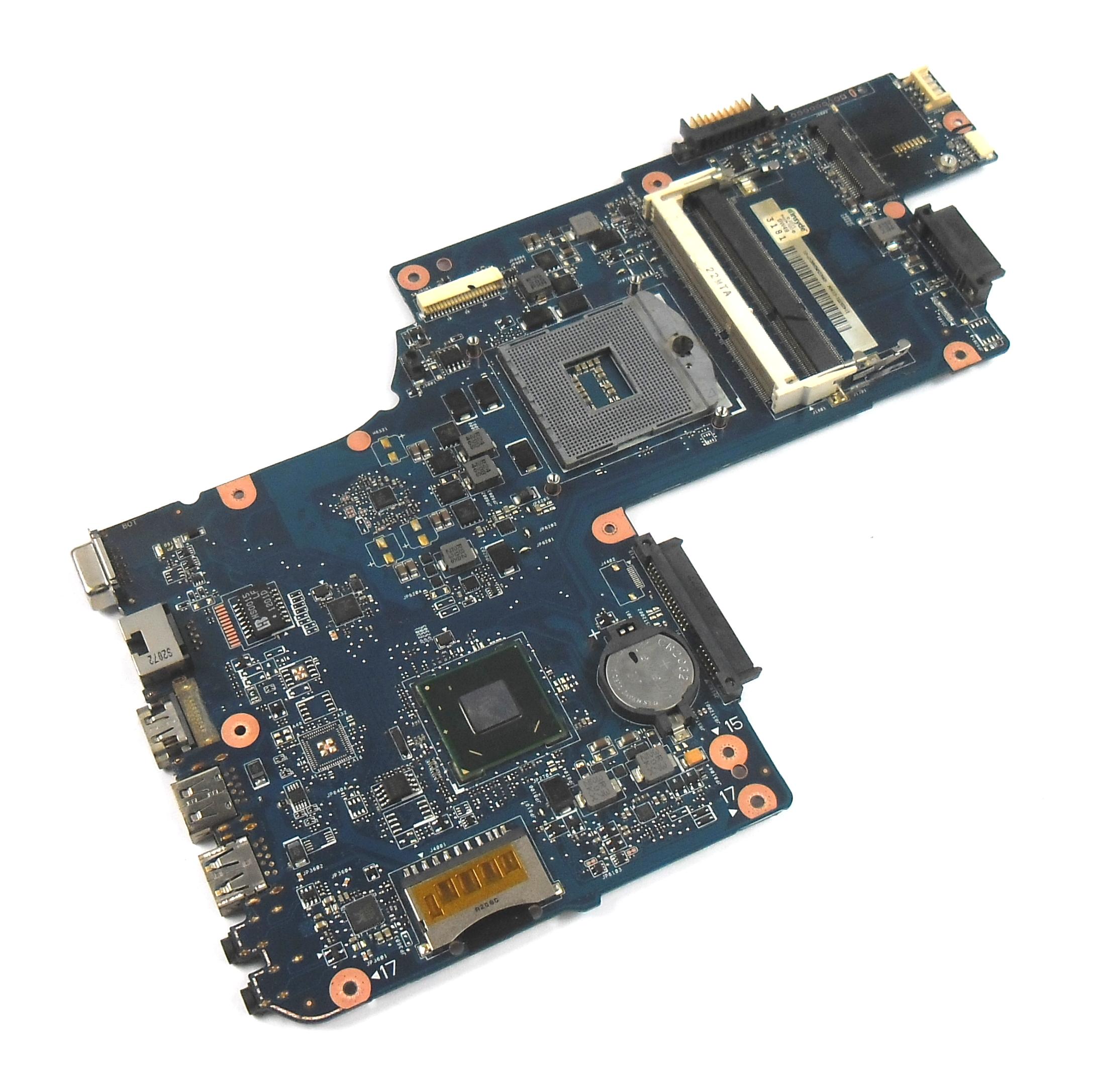 Toshiba H000038380 C850 Socket rPGA-988B Laptop Motherboard