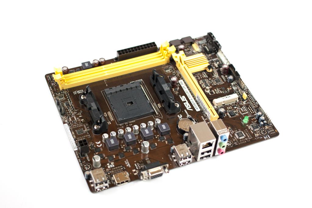 Asus A55BM-A/M32BF/DP_MB AMD Socket FM2b mATX Motherboard