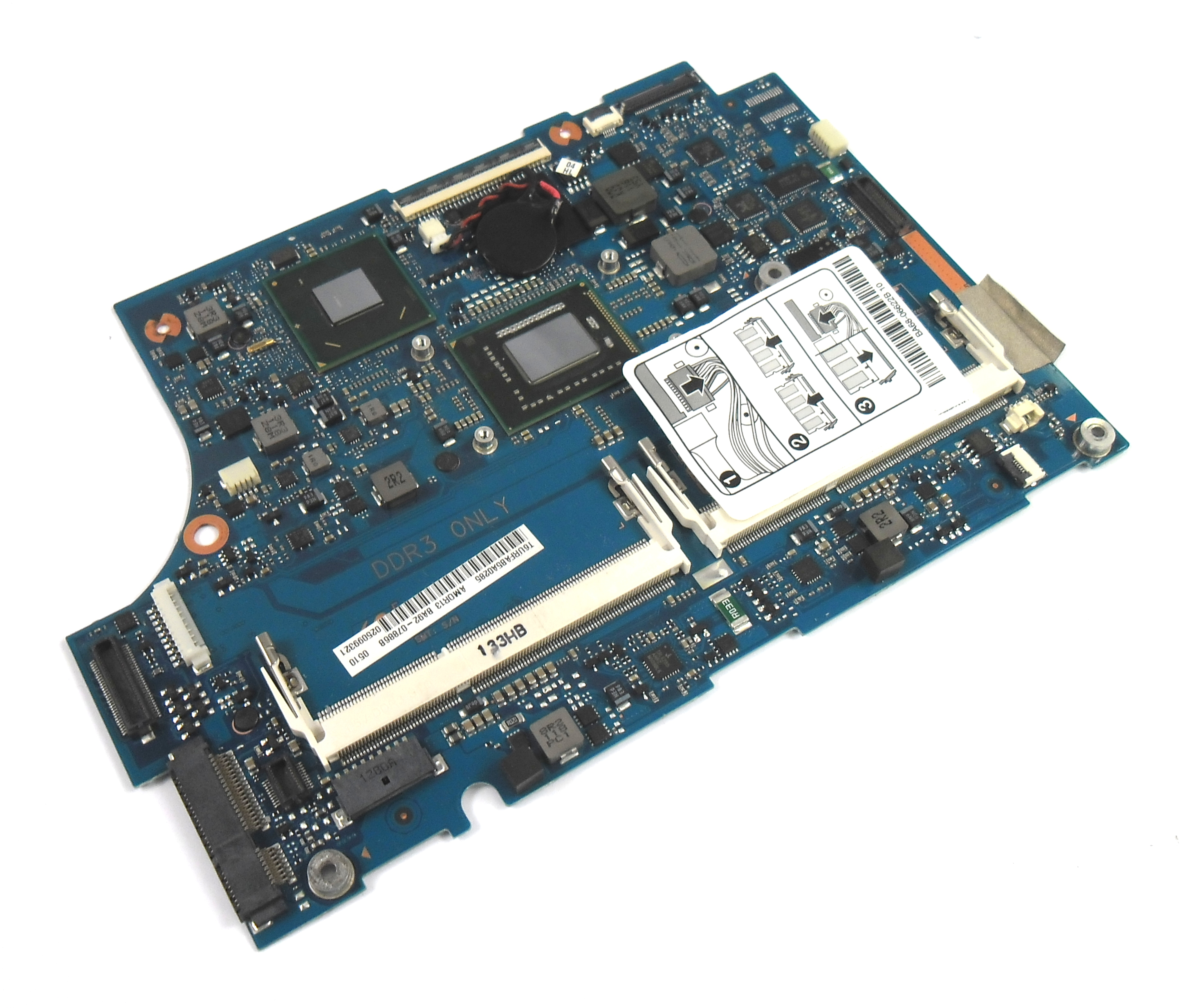 Samsung BA92-07886 900X Laptop Motherboard with Intel Core i5-2537M Processor
