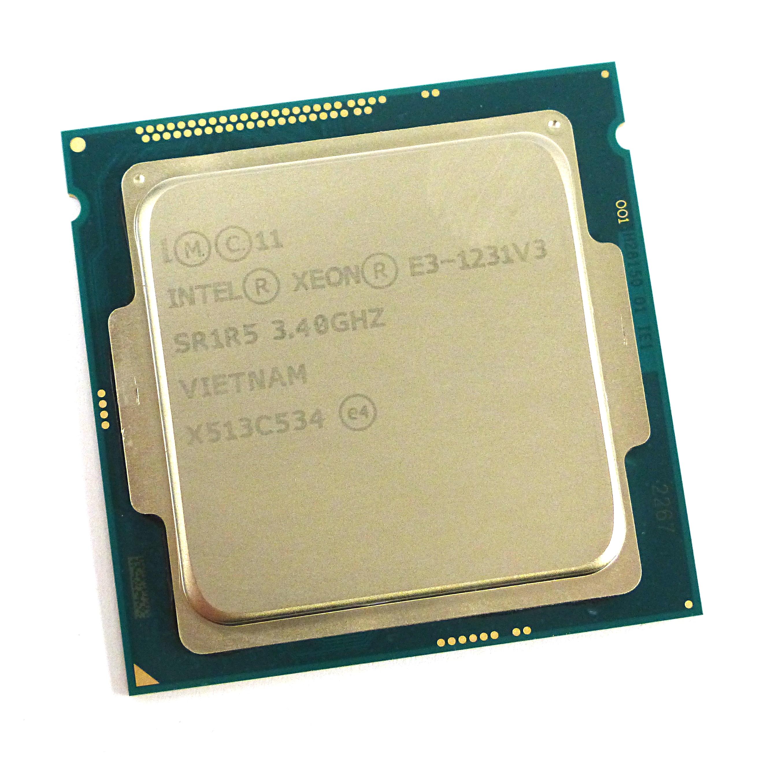 Intel Xeon SR1R5 E3-1231V3 3 4GHz Quad Core Socket LGA1150 Processor