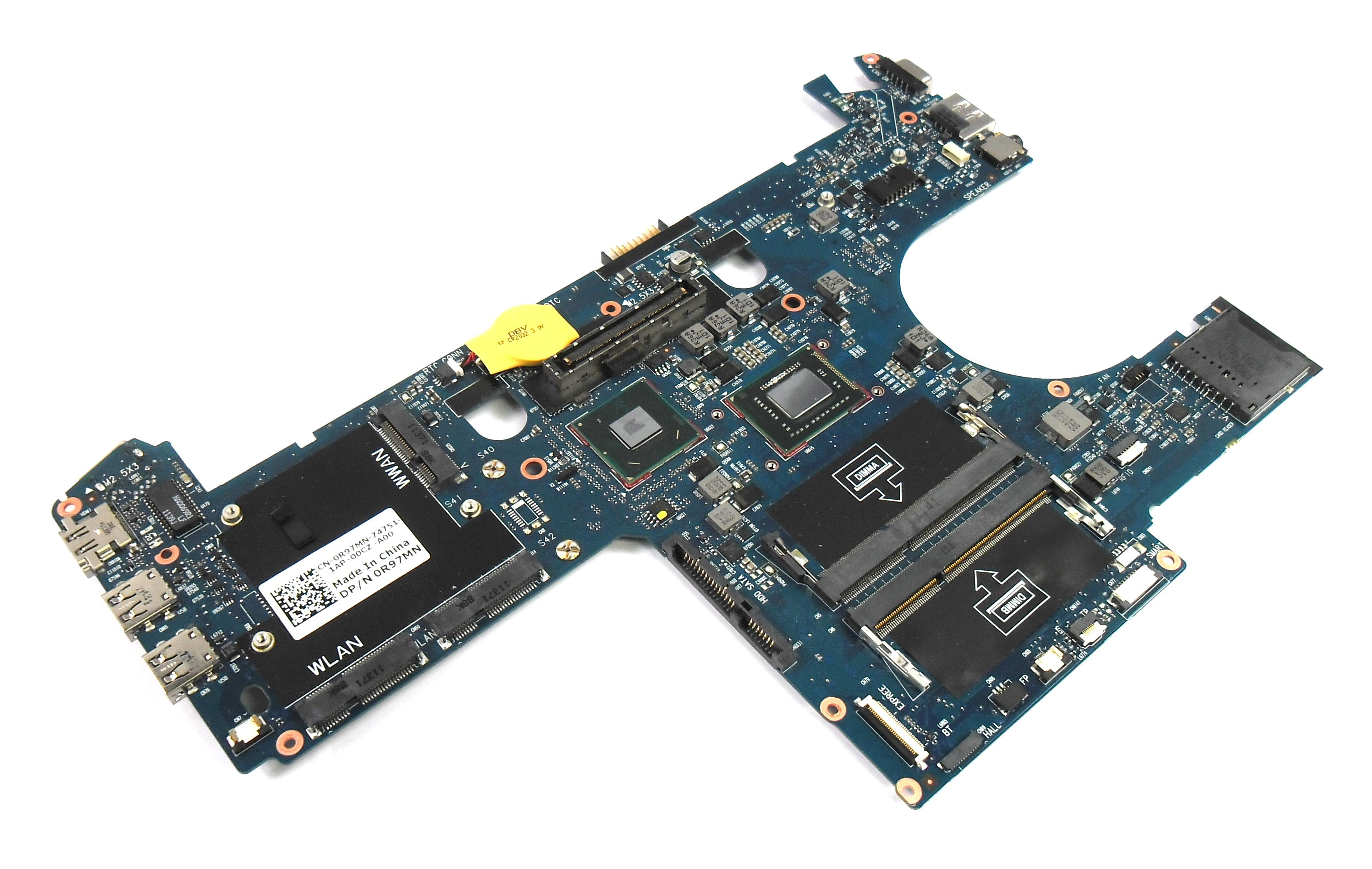 Dell R97MN Latitude E6220 Motherboard with Intel Core i5-2520M Processor