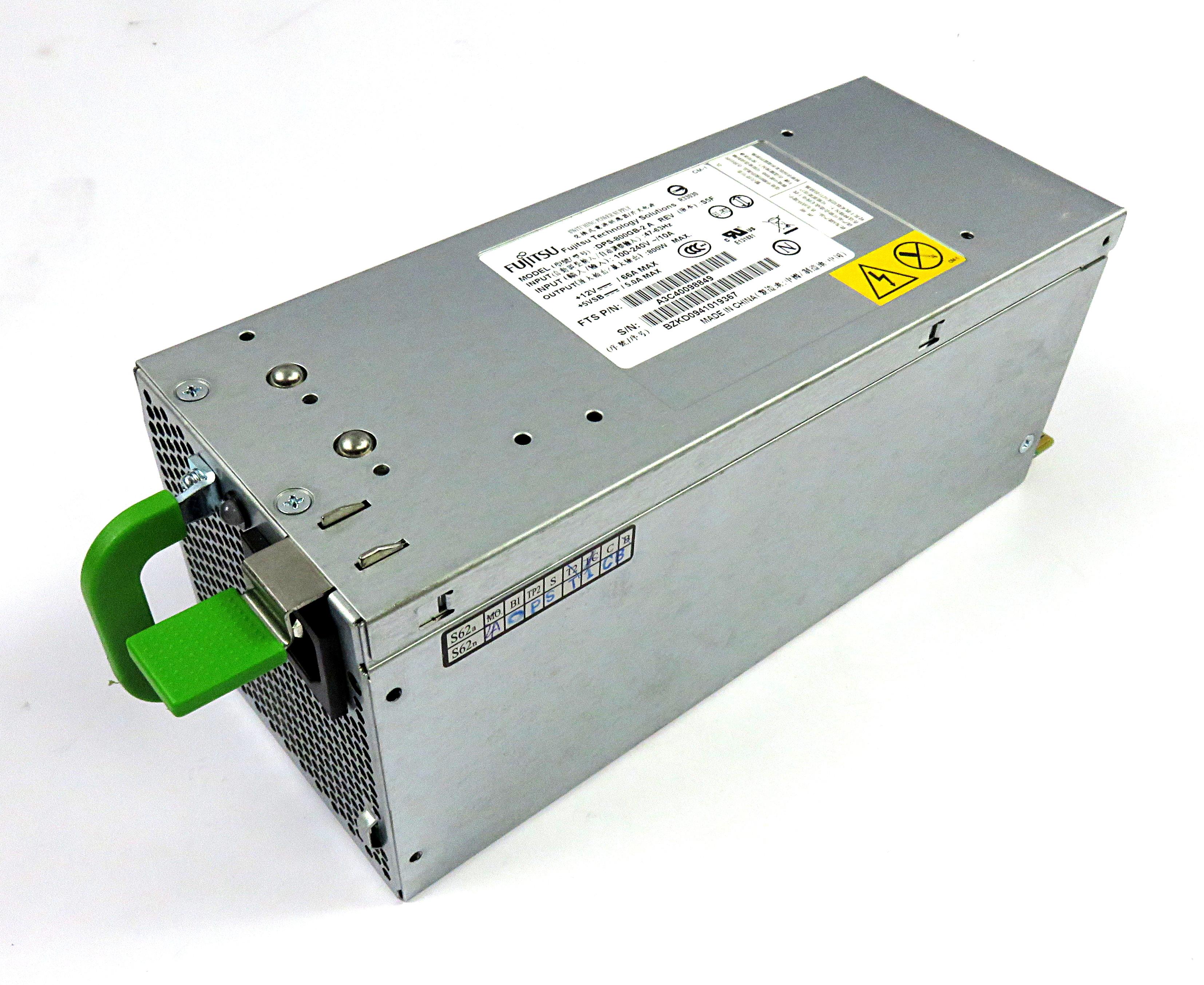 Fujitsu A3C40098849 Primergy TX200/TX300 800W PSU - DPS-800GB-2