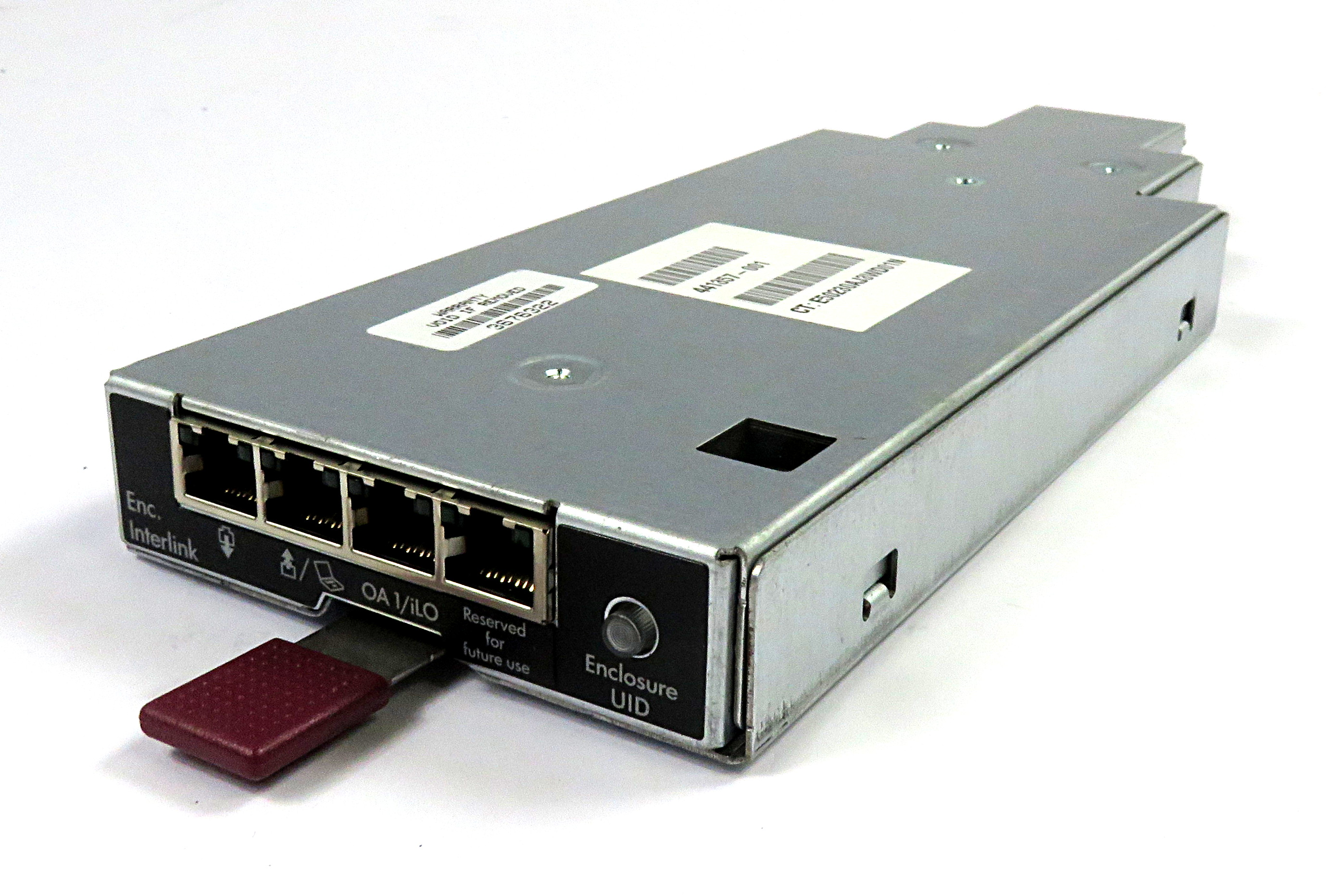HP 441357-001 Onboard Administrator Interlink Module for BLc3000