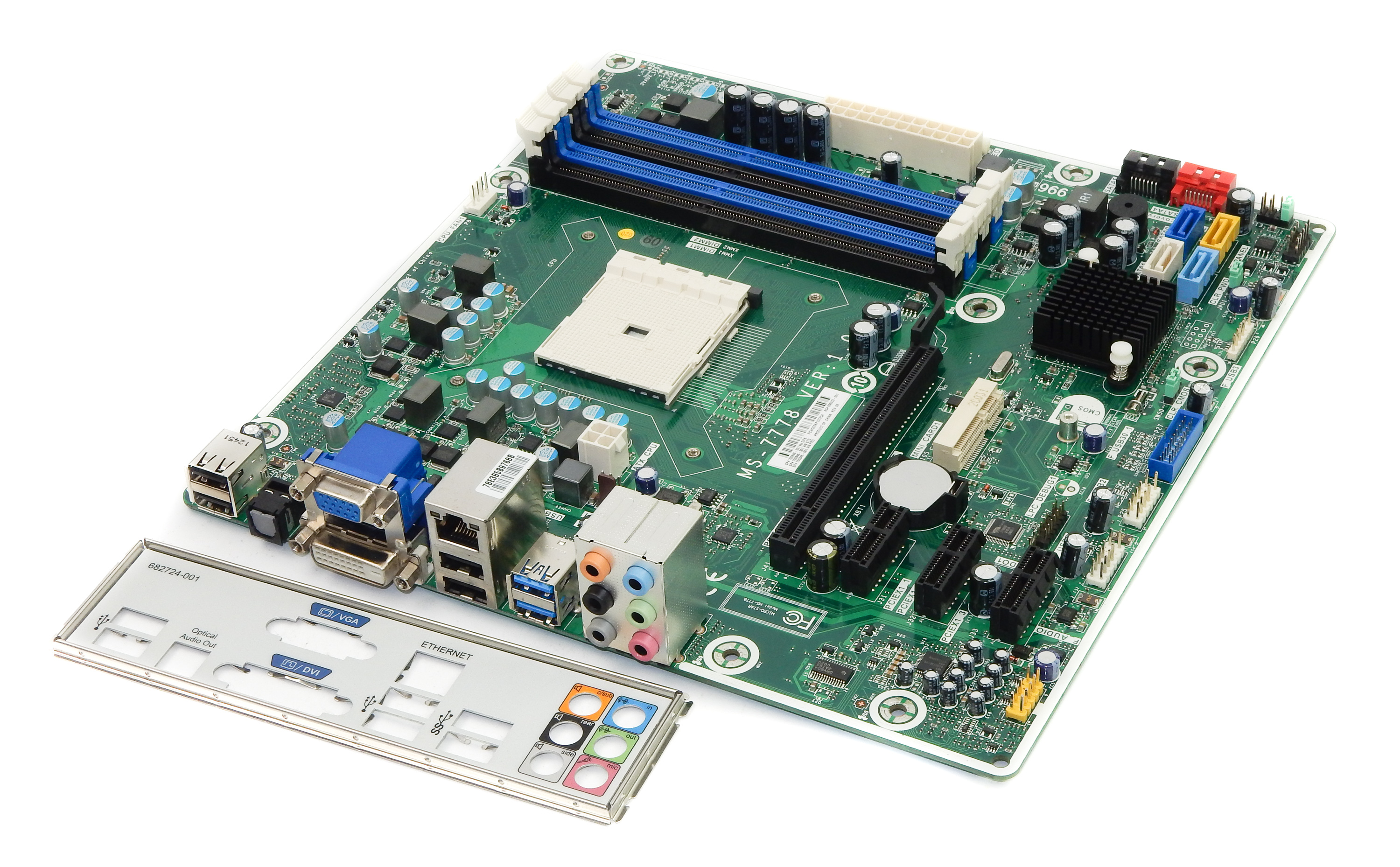 HP 696333-001 Pro 3515 Socket FM2 Motherboard - MS-7778 Ver:1.0