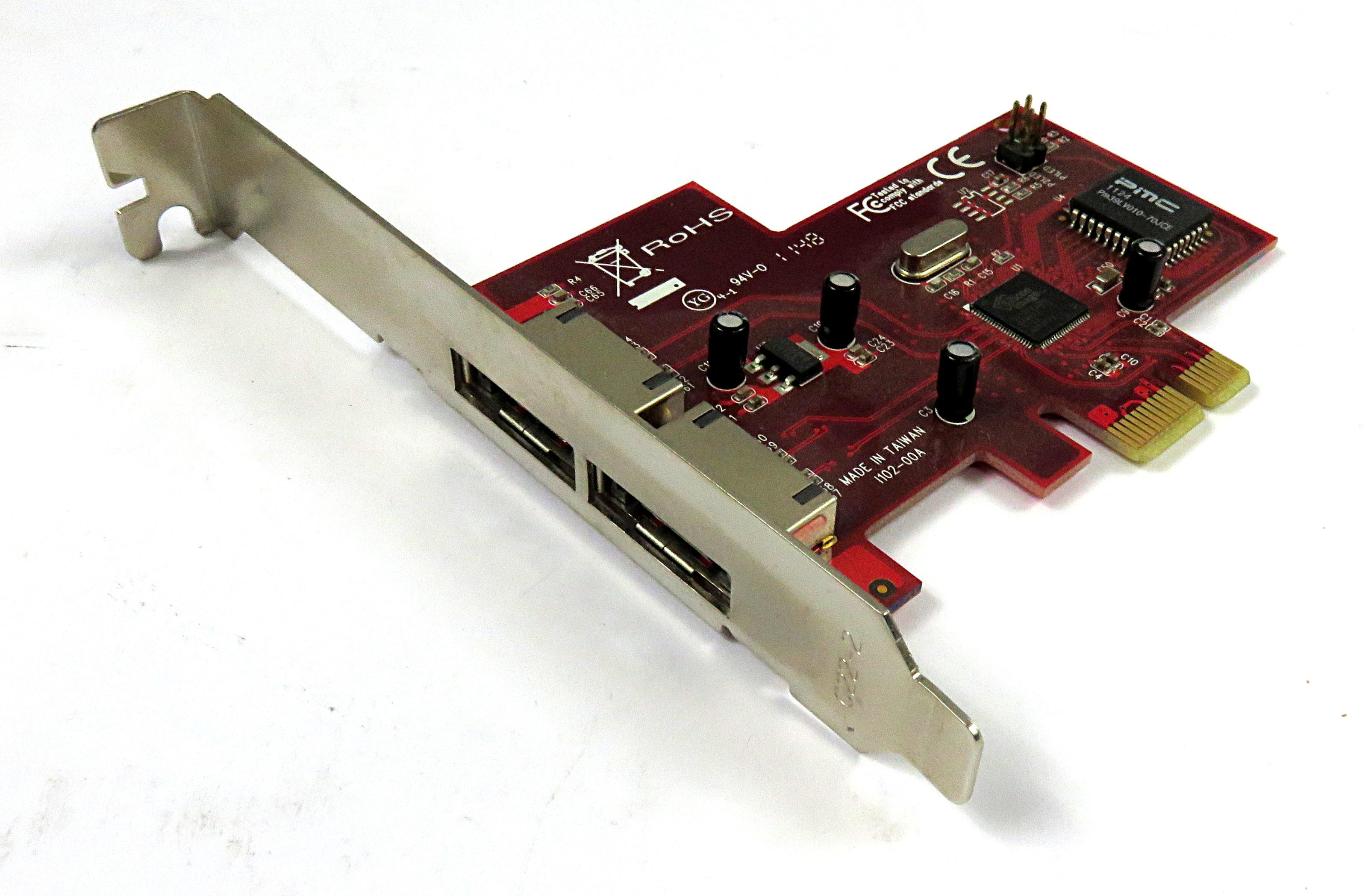 StarTech PEXESATA2 2 Port PCIe ESATA Controller Card