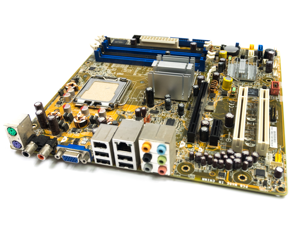 HP 5188-8019 Socket LGA775 Motherboard - P5LP-LE Rev. 6.00