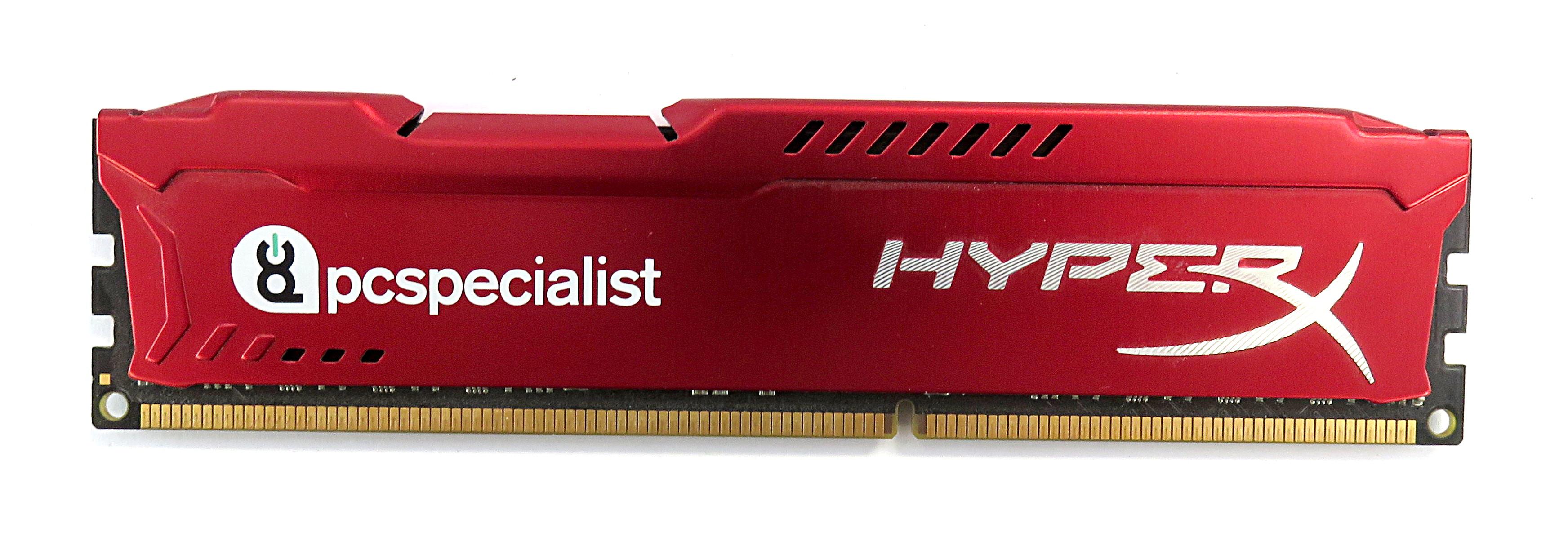 Kingston HyperX FURY Red 8Gb 1x8Gb DDR3 1600MHz DDR3-12800 DIMM HX316C10FR/8
