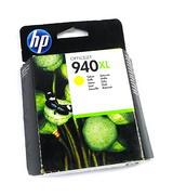 New Genuine HP C4909AE/940XL High-Capacity Yellow Ink Cartridge - Expired Stock