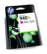 New Genuine HP C4908AE/940XL High-Capacity Magenta Ink Cartridge - Expired Stock