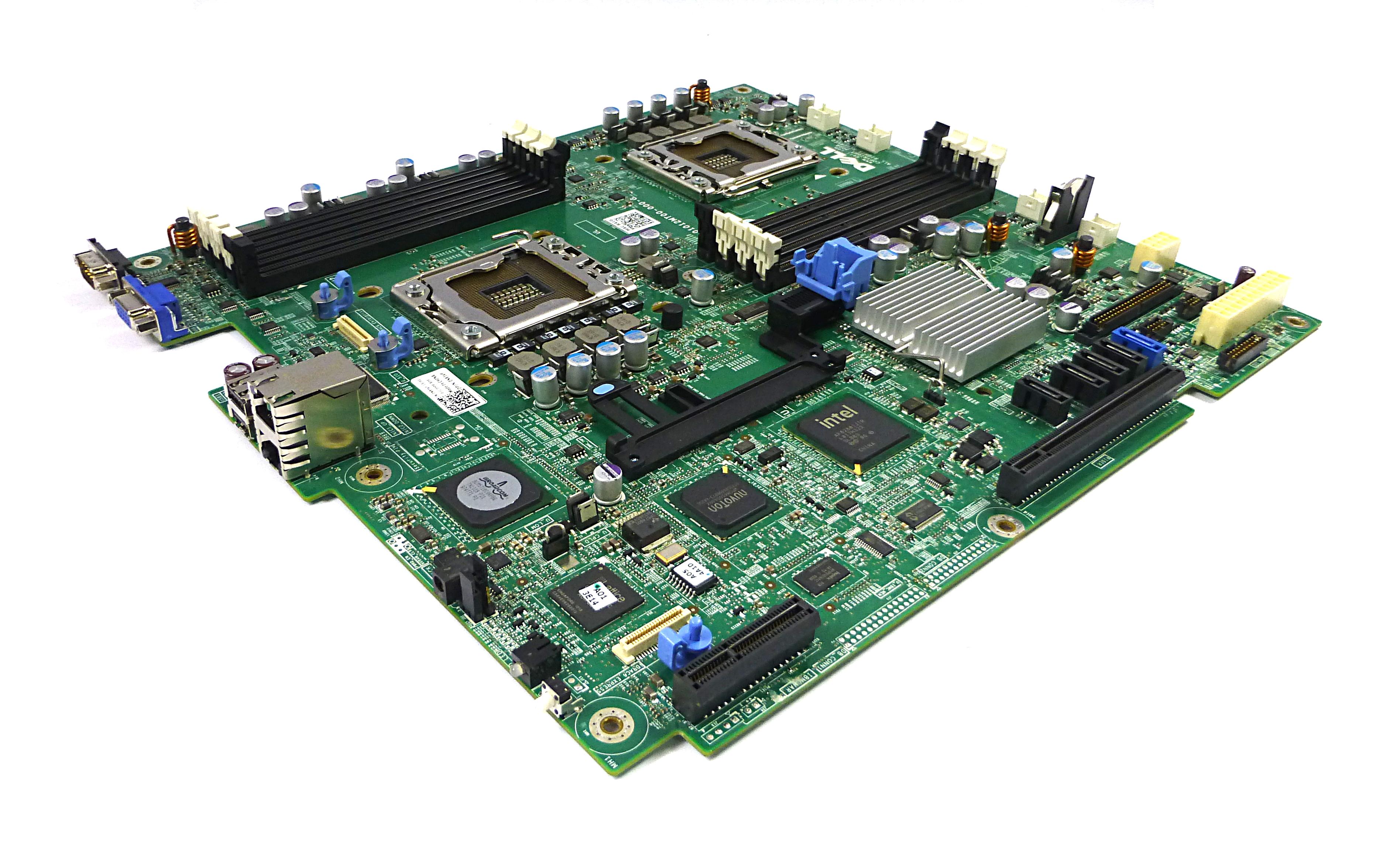 Dell N83VF Poweredge R410 Dual Socket LGA1366 System Board