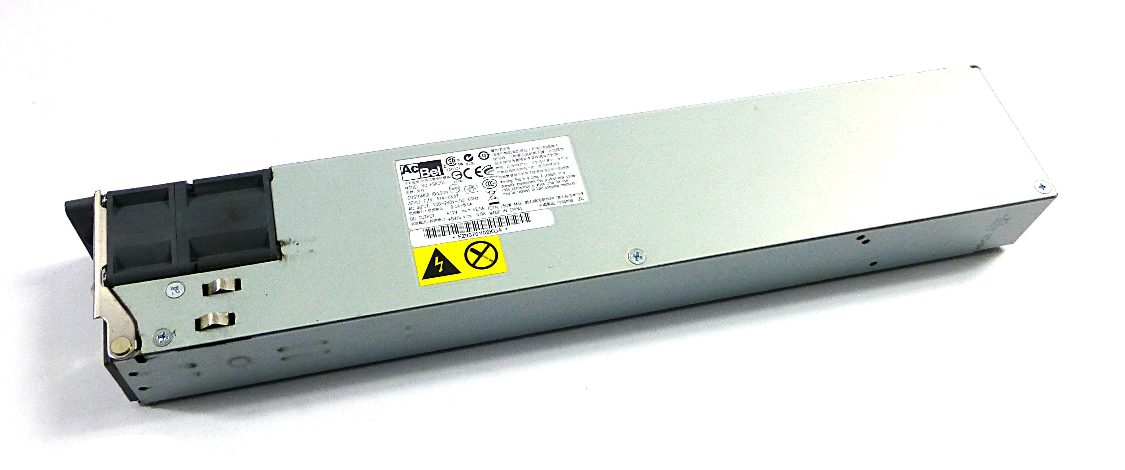Apple 614-0437 XServe Model: A1279(2009) 750W Power Supply - AcBel FS8005