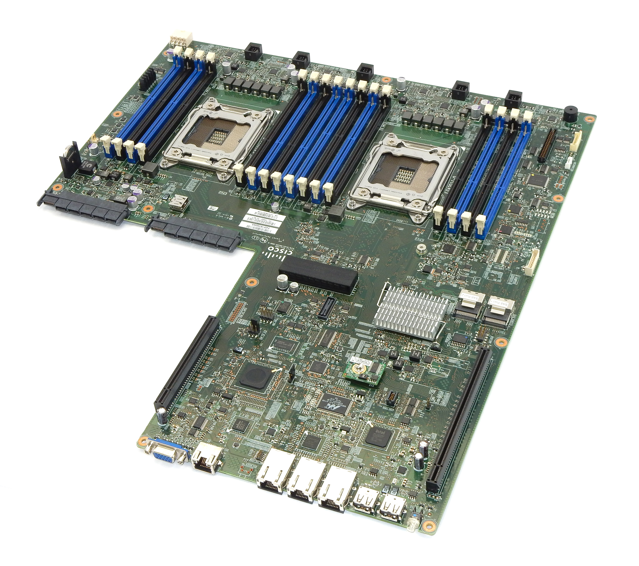 Cisco 74-10442-02 UCS C220 M3 Dual Socket LGA2011 System Board