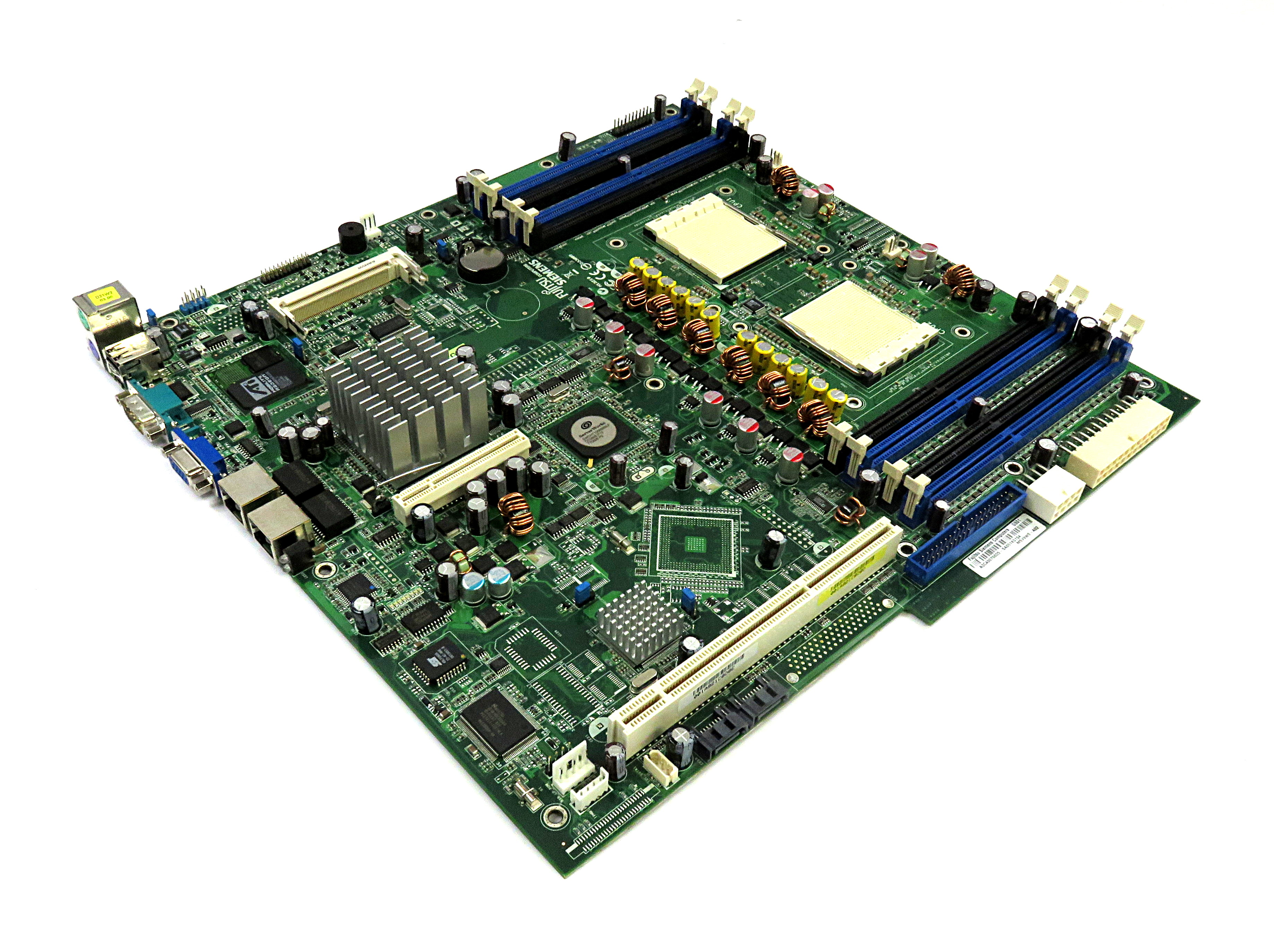 Detalles de Fujitsu Siemens A3C40076655 MSV9W0-A02 Dual Socket 940 placa  base D2130 REV:1 05- ver título original