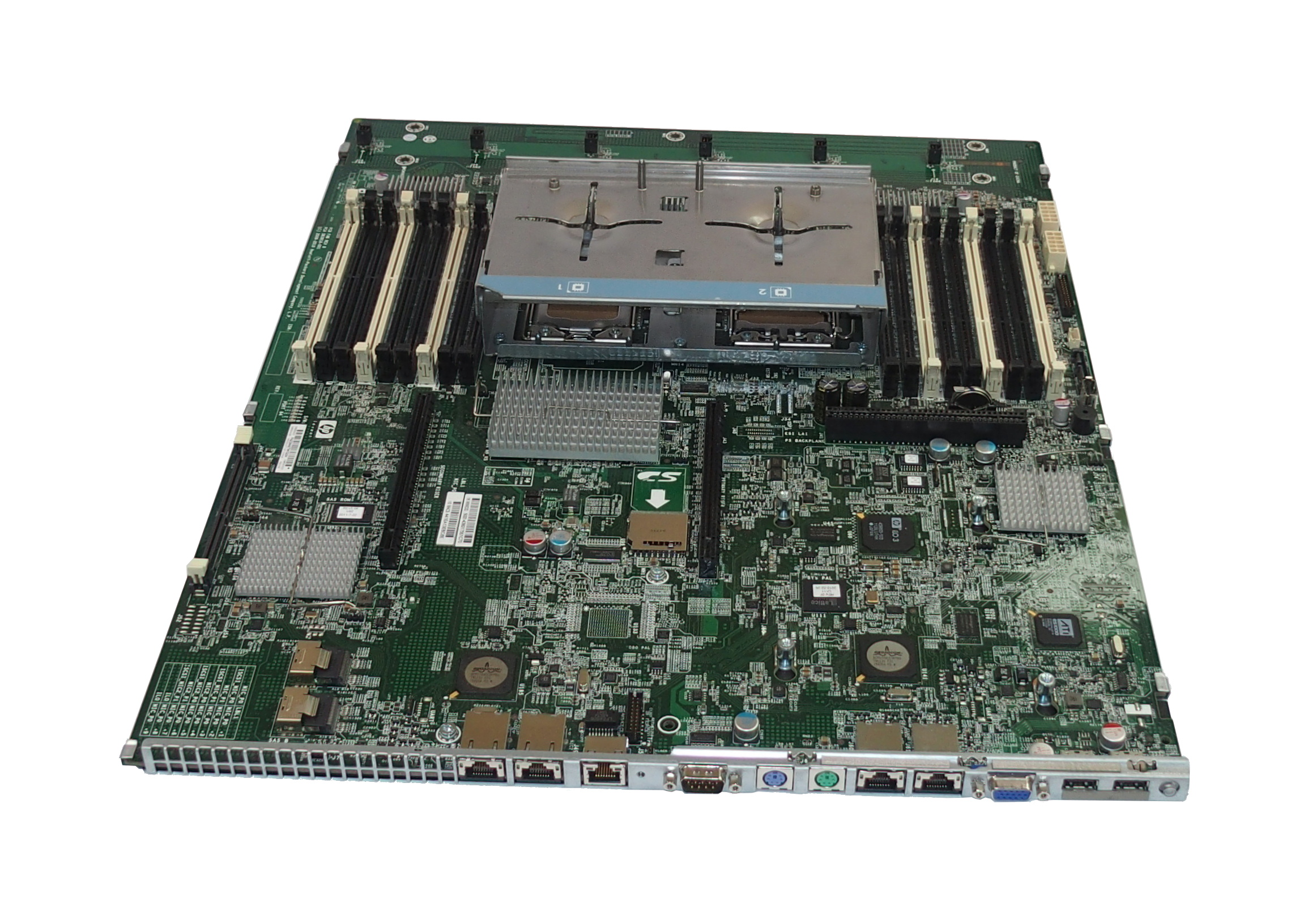hp 583918 001 proliant dl380 g7 dual socket motherboard 599038 001 ebay. Black Bedroom Furniture Sets. Home Design Ideas
