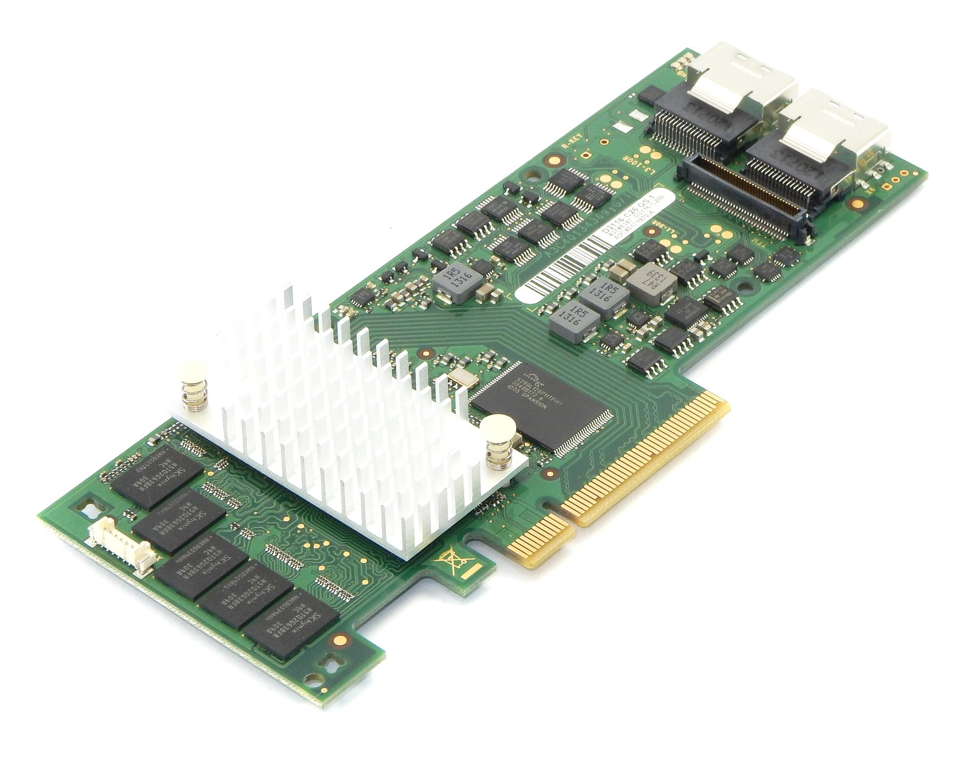 Fujitsu D3116-C26 GS 1 RAID Controller SAS 6Gbit/s 1GB PCIe