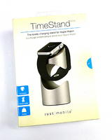 New Just Mobile TimeStand ST-180SI Charging Stand for Apple Watch - Aluminium