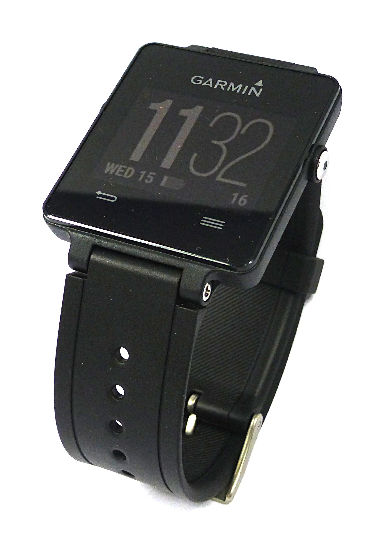 Garmin Vívoactive 04AWGD01 GPS Smartwatch for the Active Lifestyle - Black