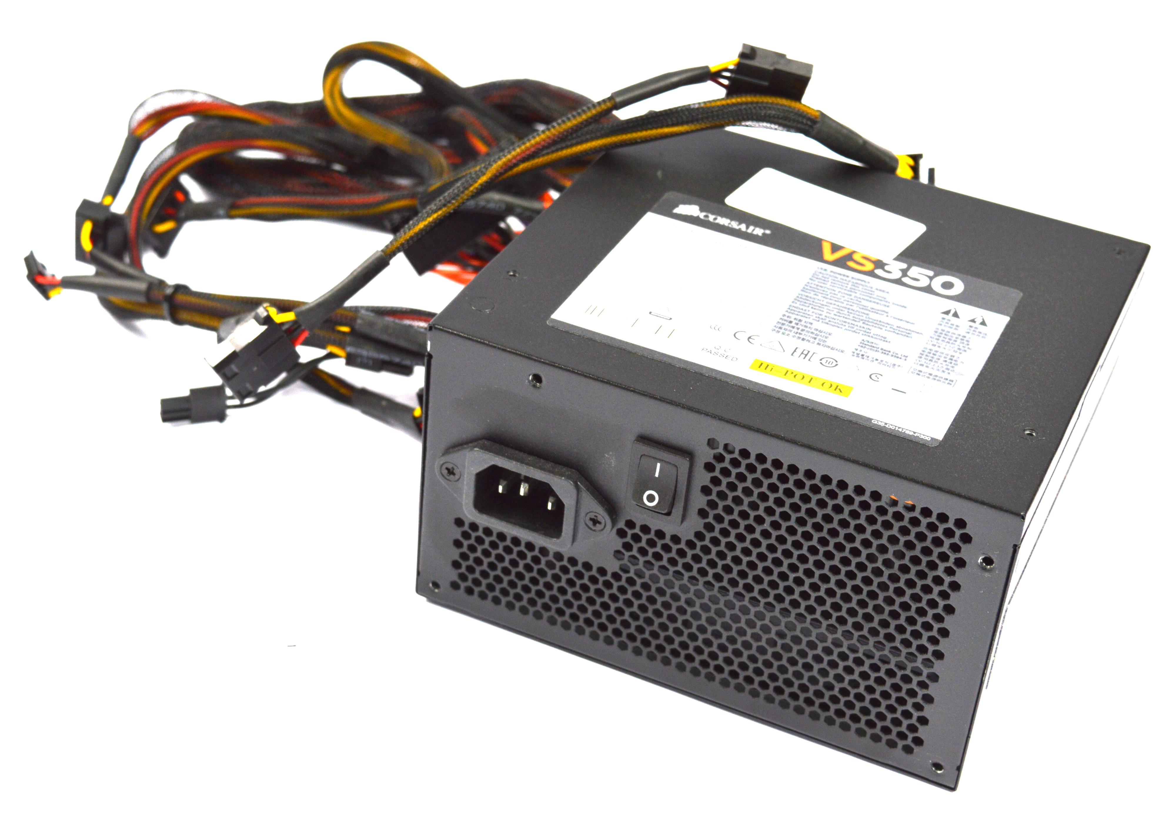 CP-9020095 Corsair VS350 350W 20/24Pin Power Supply Model:75-001834