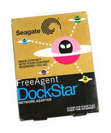 New Seagate FreeAgent DockStar Network Adapter - STDSD10G-RK