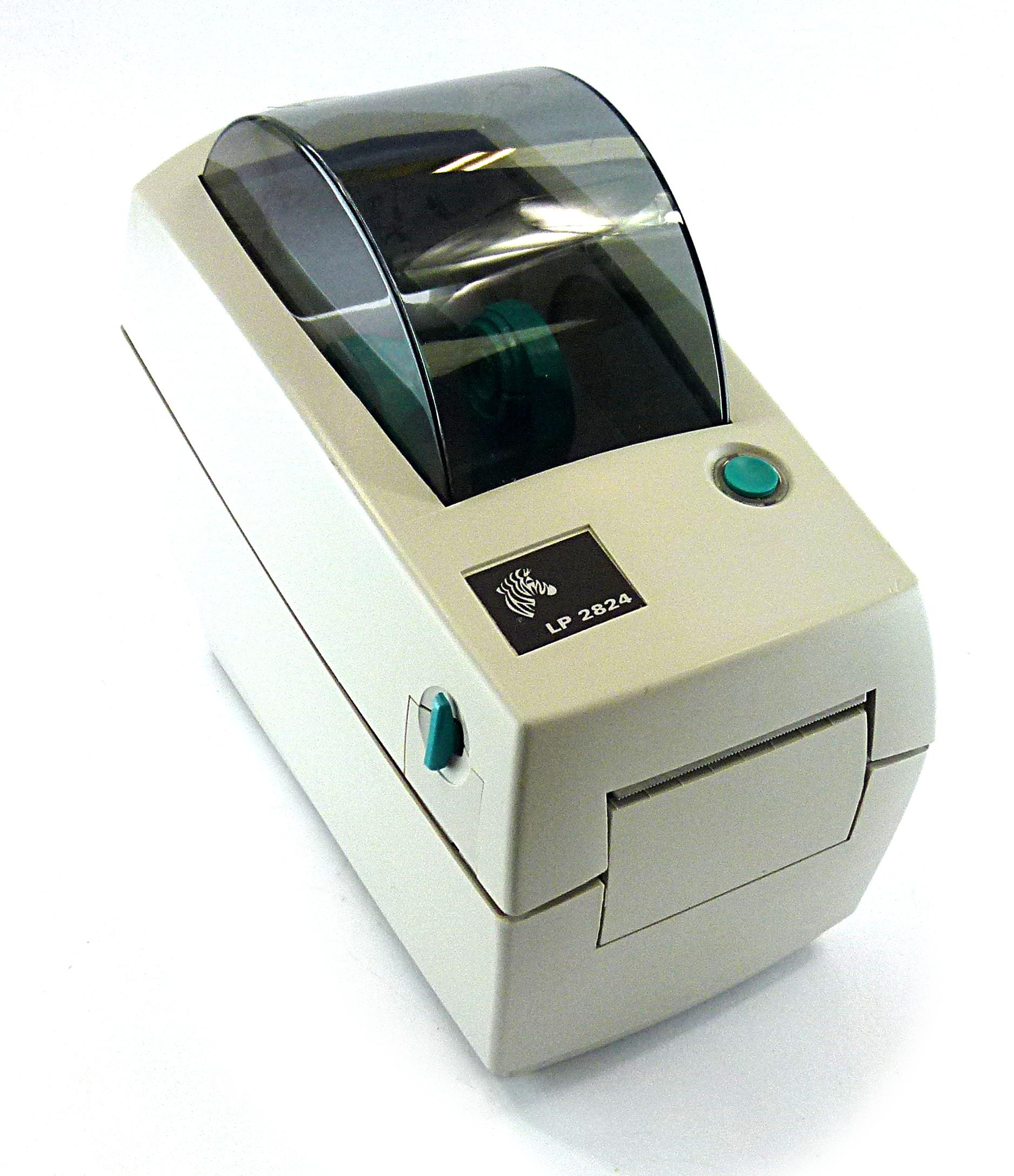 Zebra LP2824 Thermal Label USB Printer - 2824-21120-0001