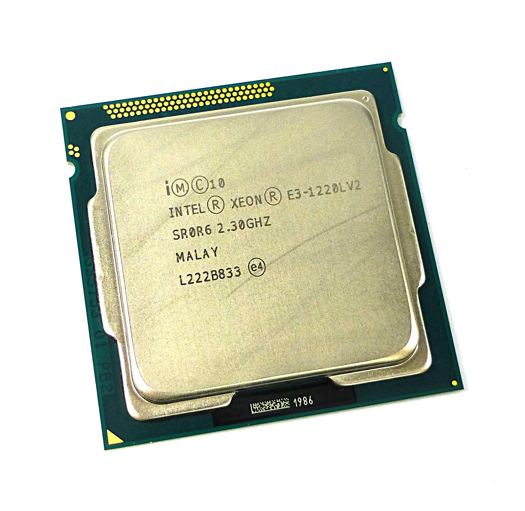 Intel Xeon SR0R6 2.3GHz Dual Core Socket LGA1155 Processor E3-1220LV2