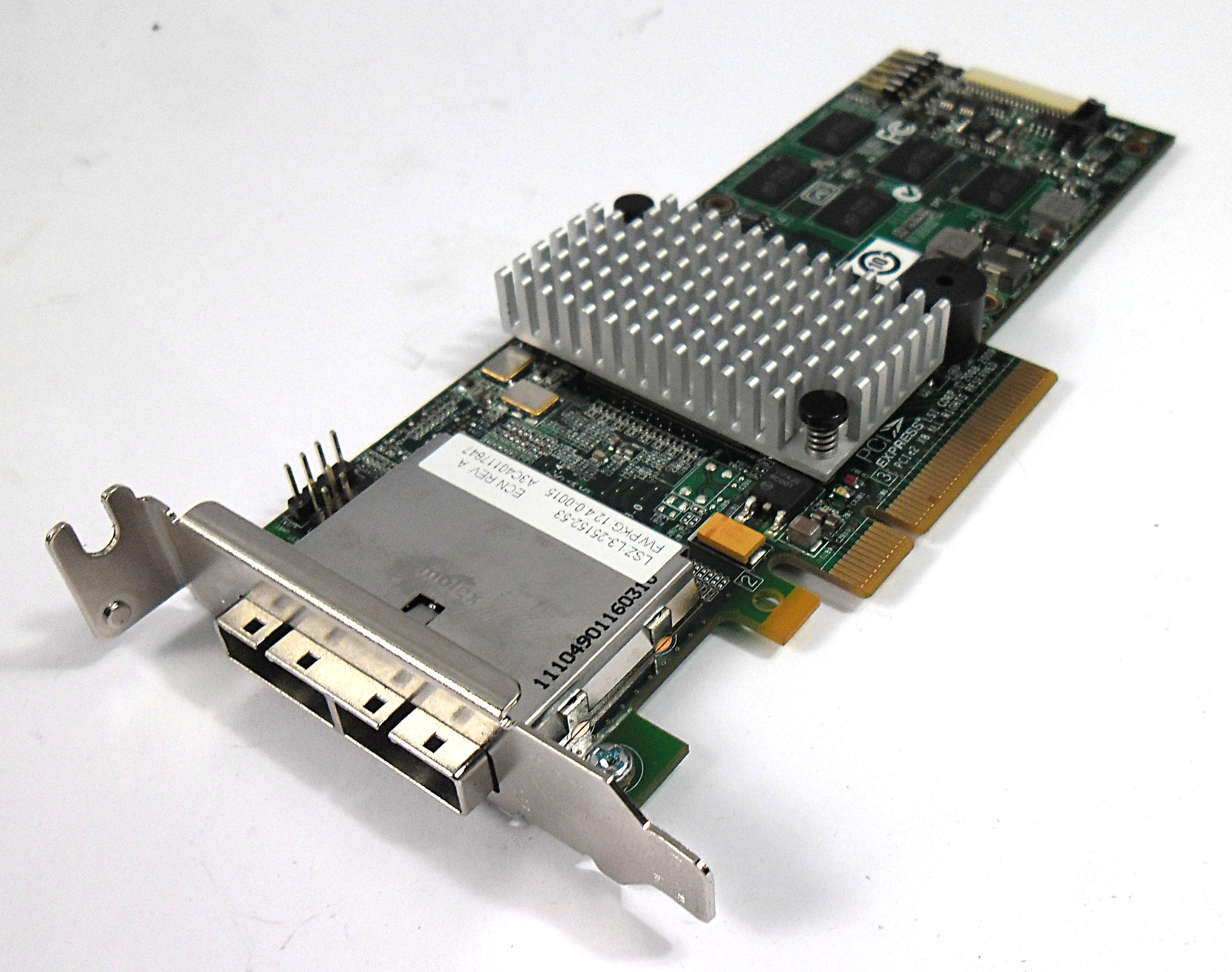 Fujitsu A3C40117847 L3-25152-53A PCIe SAS RAID Controller Card Low Profile