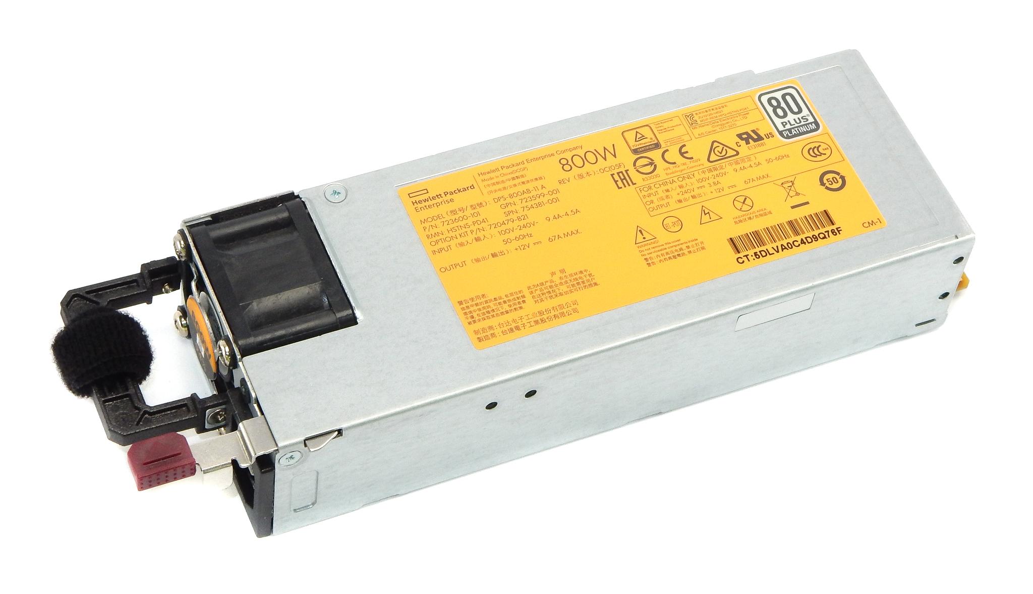 Genuine HP 754381-001 800W Power Supply Unit - DPS-800AB-11 A