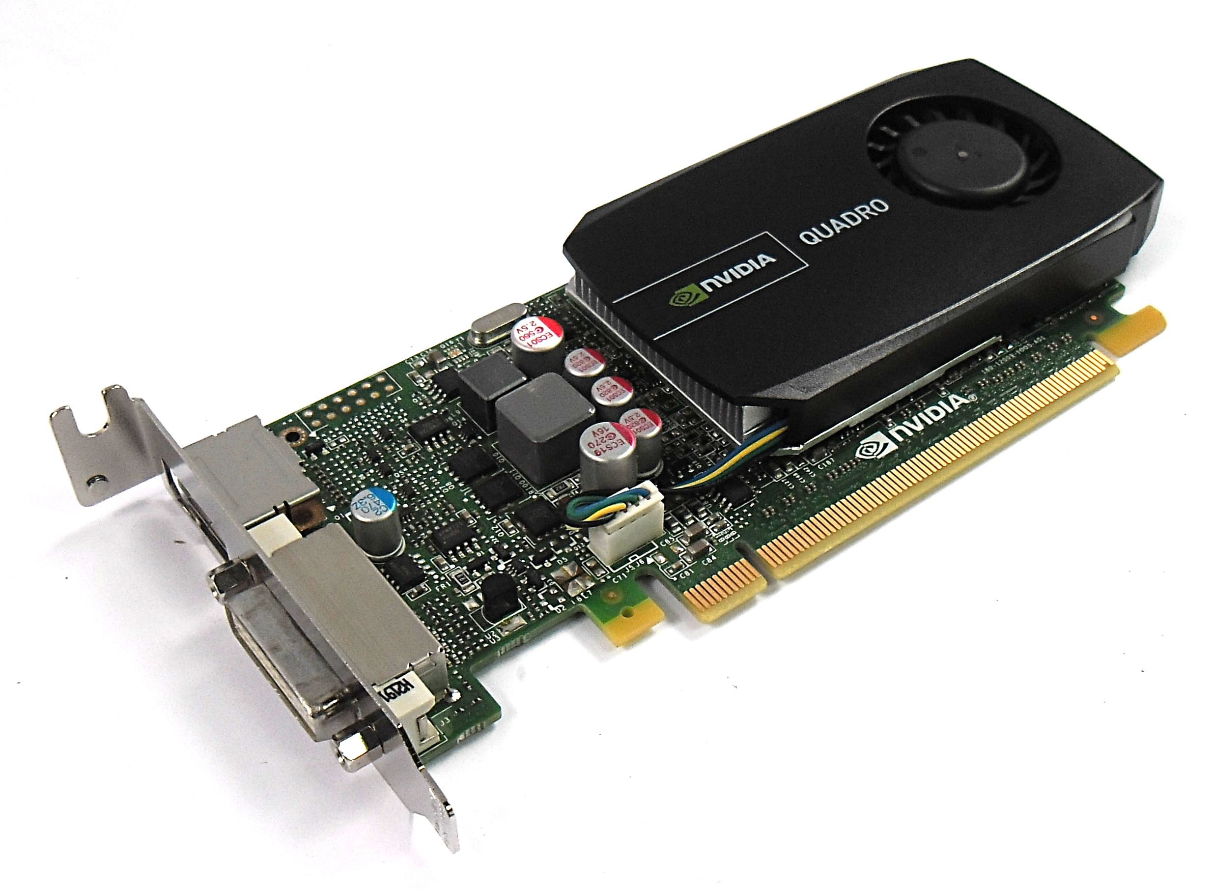 PNY VCQ600ATXV2-T Quadro 600 1GB DDR3 PCIe LP DVI-I/ Display Port Graphics Card