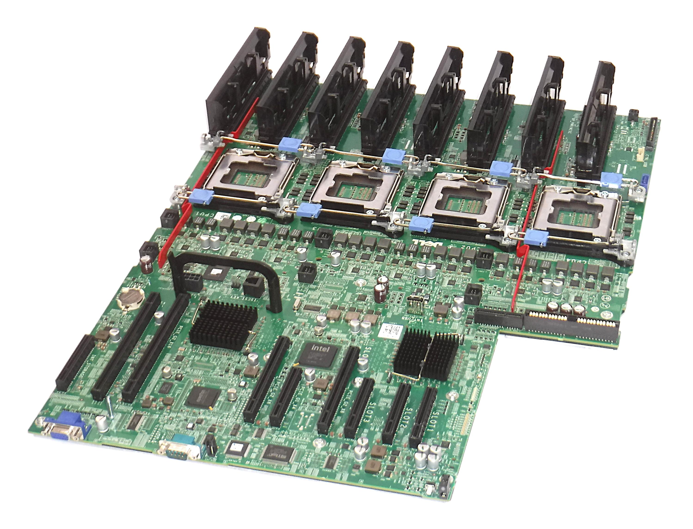 Dell P658H Quad-Socket LGA1567 Mainboard for PowerEdge R910