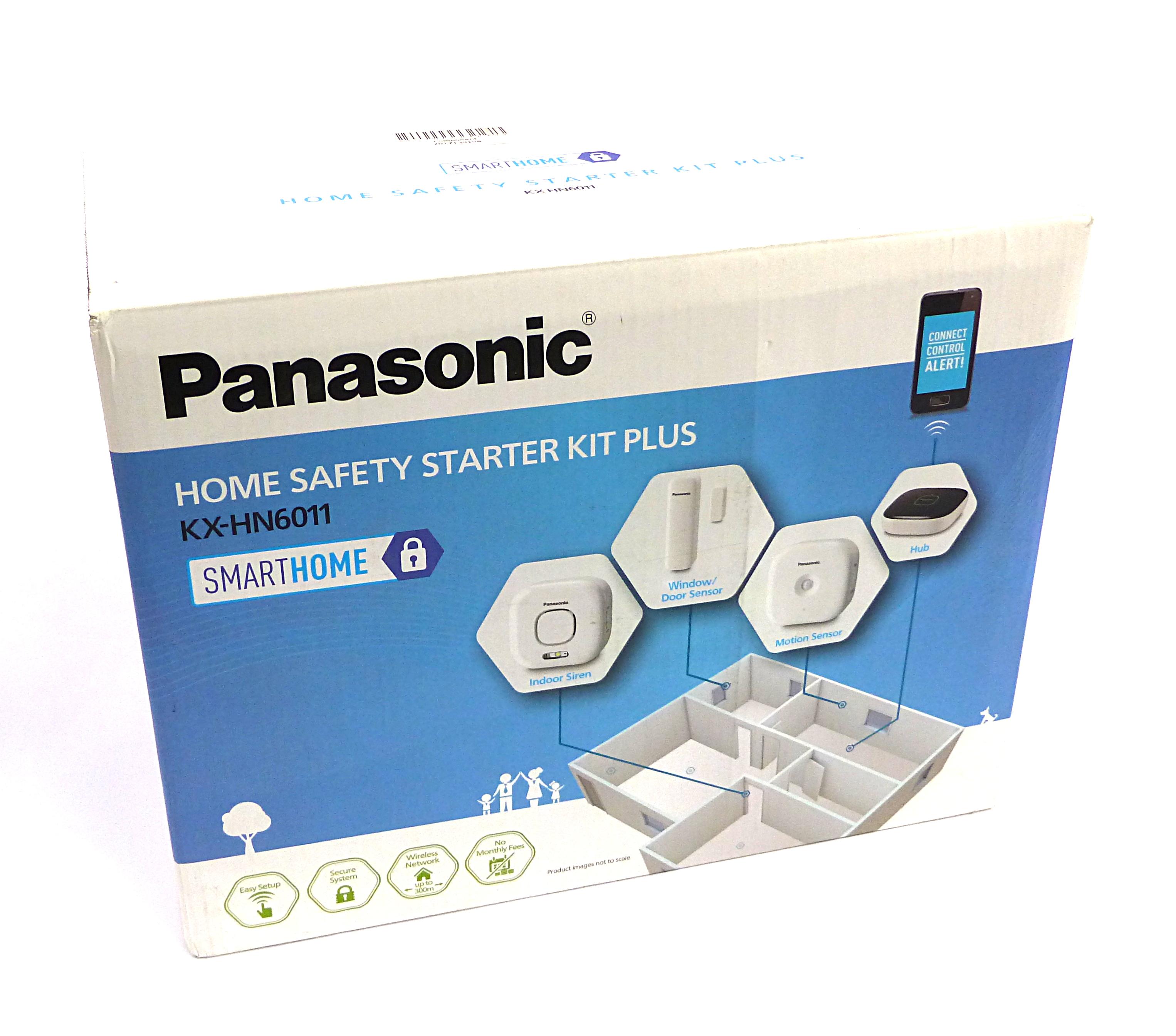 Panasonic KX-HN6011 SmartHome Home Safety Starter Kit Plus