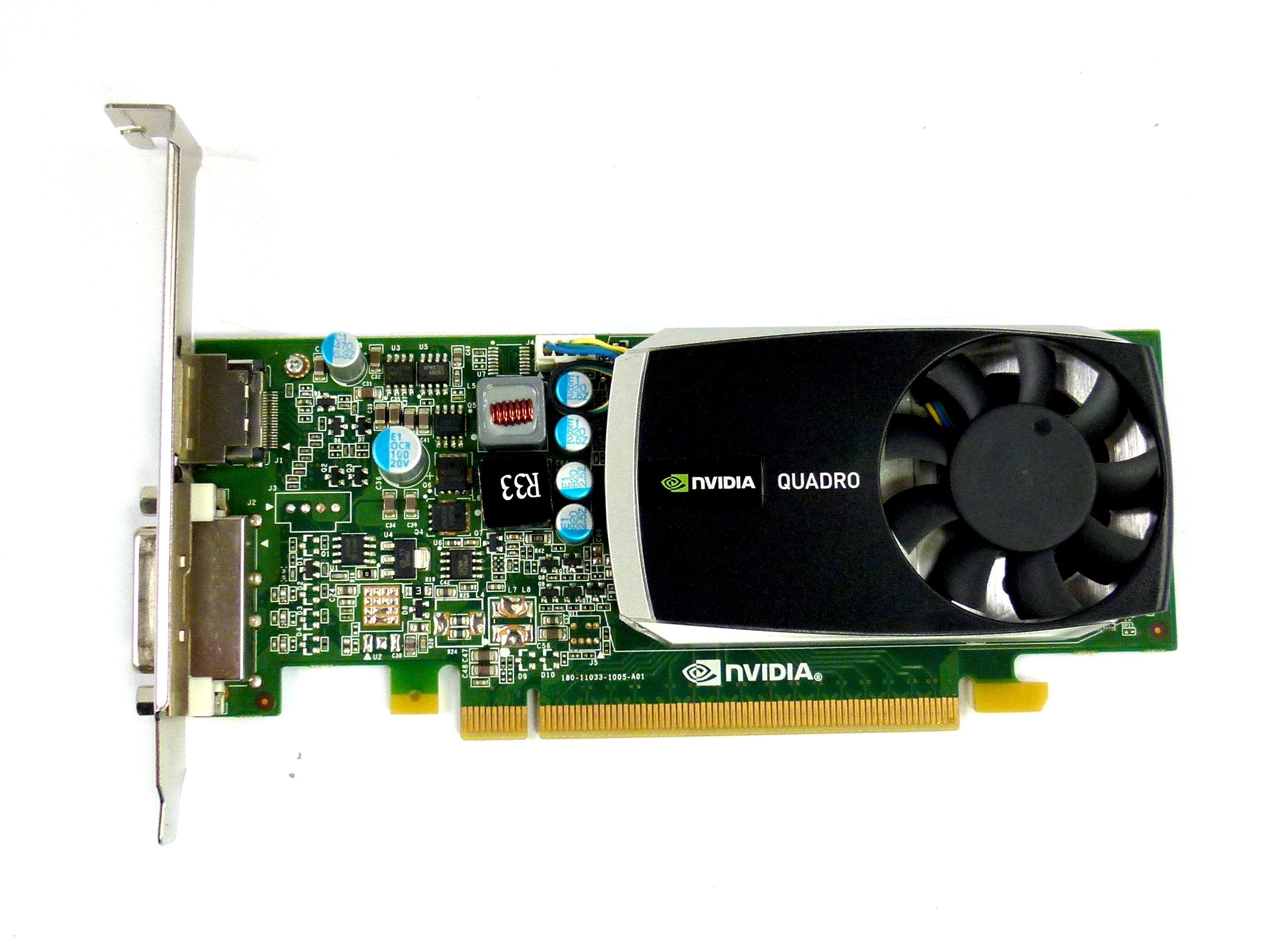 PNY VCQ600-T nVidia Quadro 600 DP/DVI 1GB DDR3 PCI-E Graphics Card