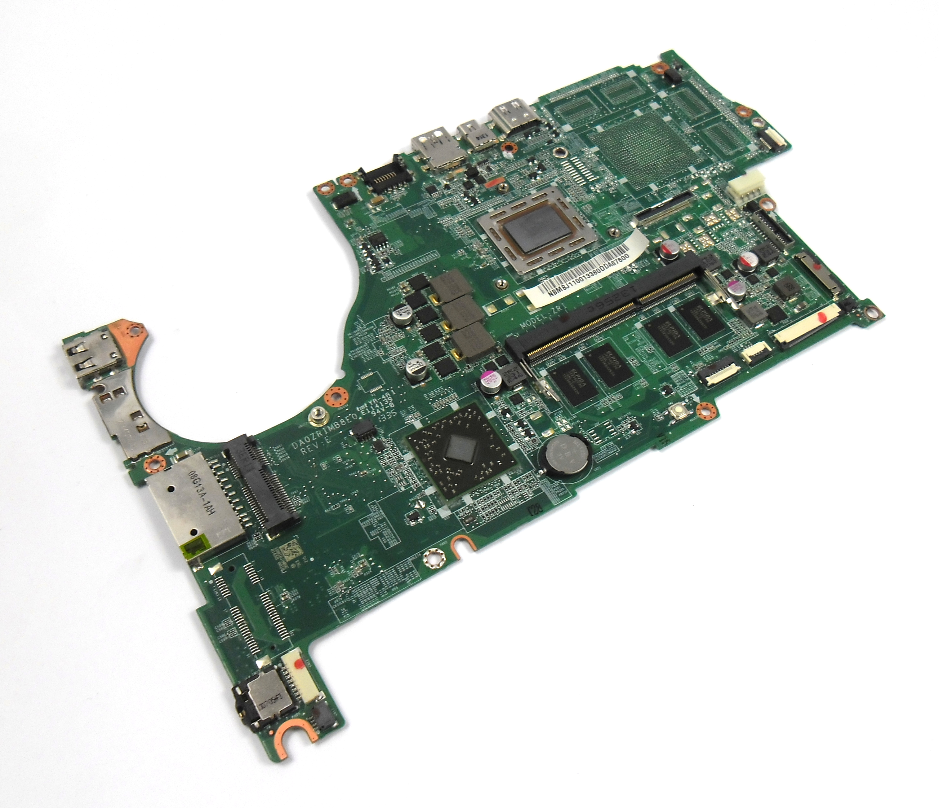 NB.MBJ11.001 Acer Aspire V5-552 Motherboard with AMD A10-5757M BGA CPU