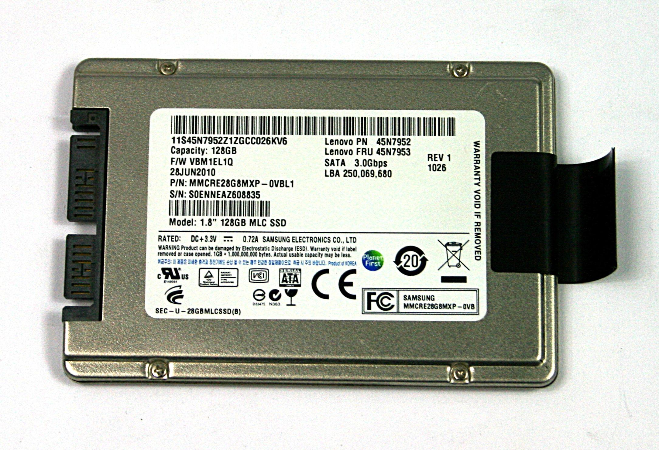 Lenovo 45N7953 Samsung 128GB 1 8