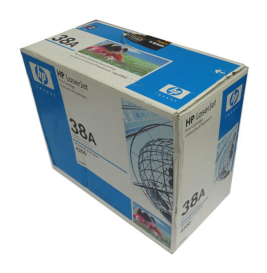 HP Q1338A/38A LaserJet 4200 Black Print Cartridge / Globe Livery