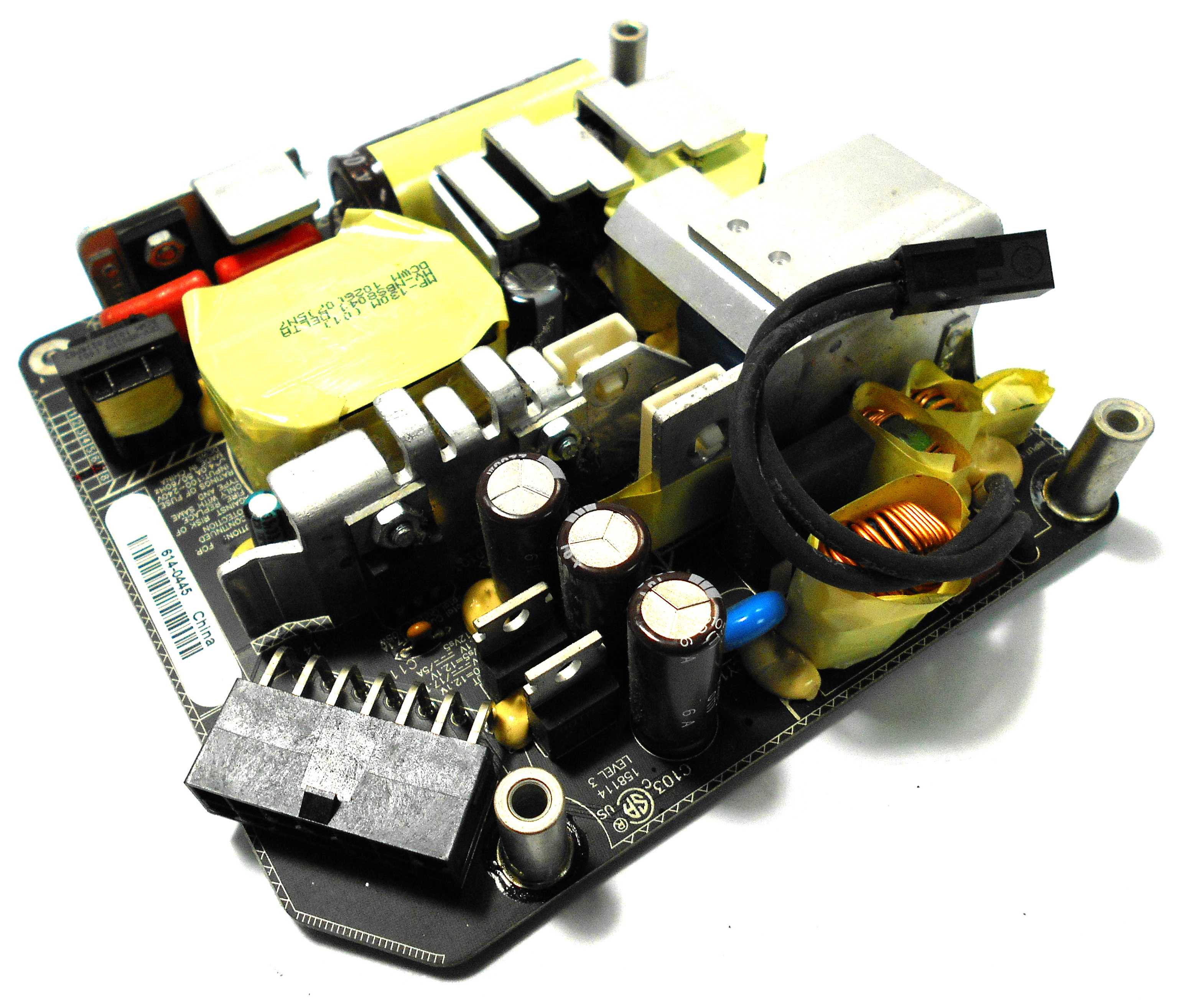 """Apple iMac A1311 21.5"""" Open Frame Power Supply - Delta ADP-200DFB 614-0445"""