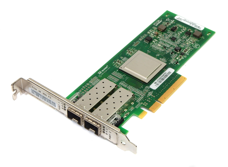 Qlogic QLE2562 LP PCIe Dual-Port 8Gb FC HBA PX2810403-01