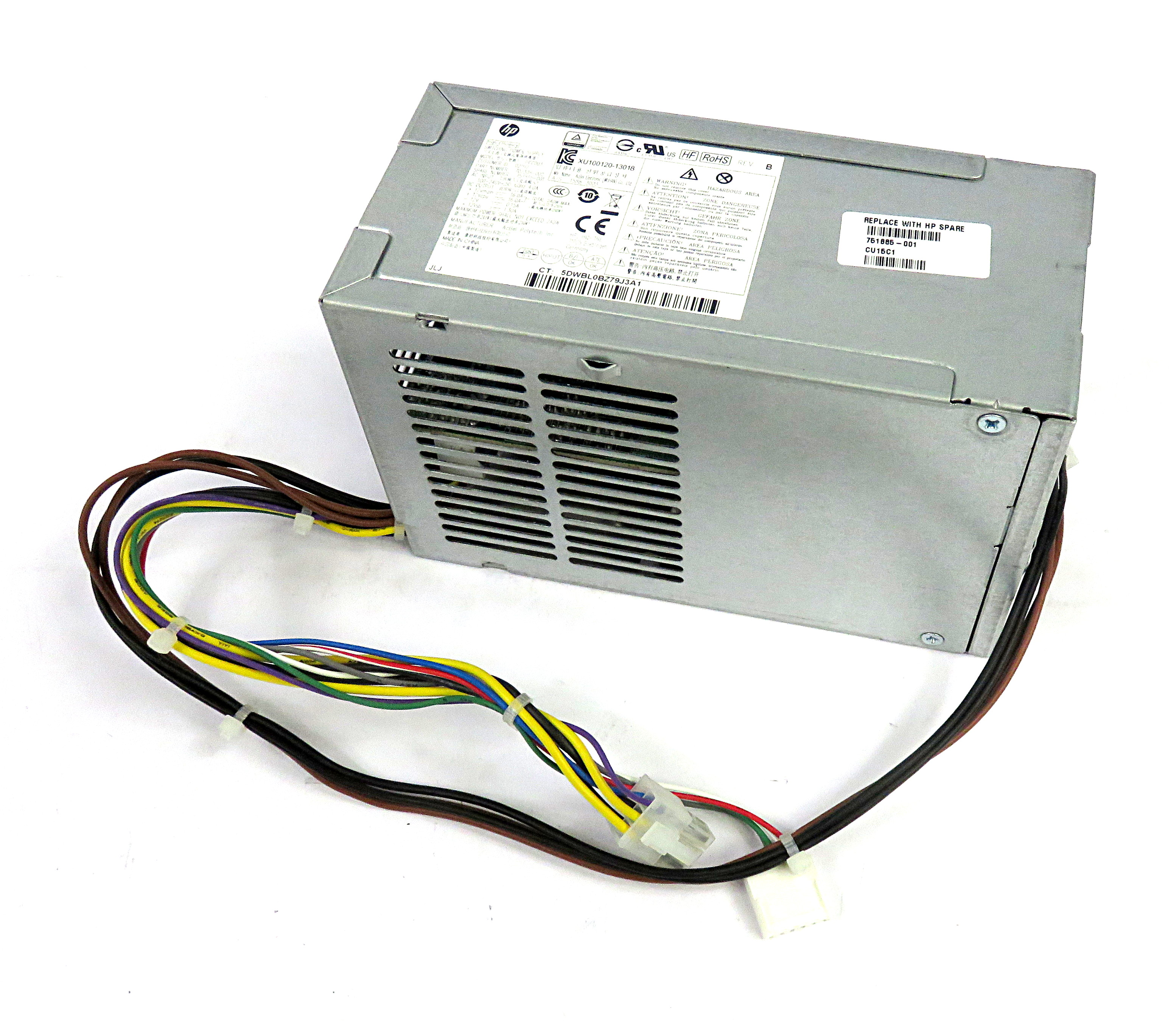 HP 755185-001 ProDesk 600 G1 SFF 240W 6 Pin Power Supply - AcBel PCC003