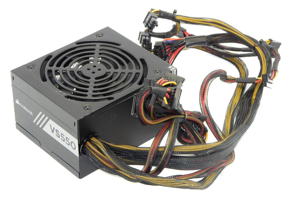 CP-9020171 Corsair VS550 550W 20/24Pin Non-Modular ATX Power Supply - 75-003436