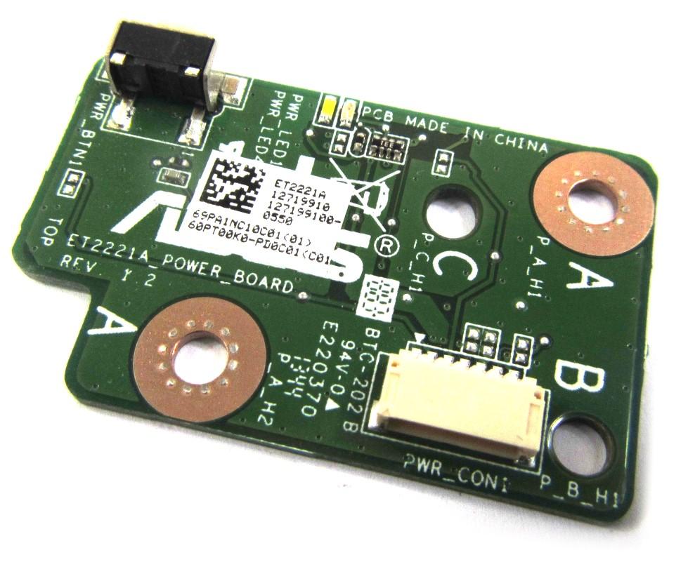 ET2221I_POWER_BOARD Rev:1.2 Asus E-Series (ET2221I) AiO PC Power Button PCB