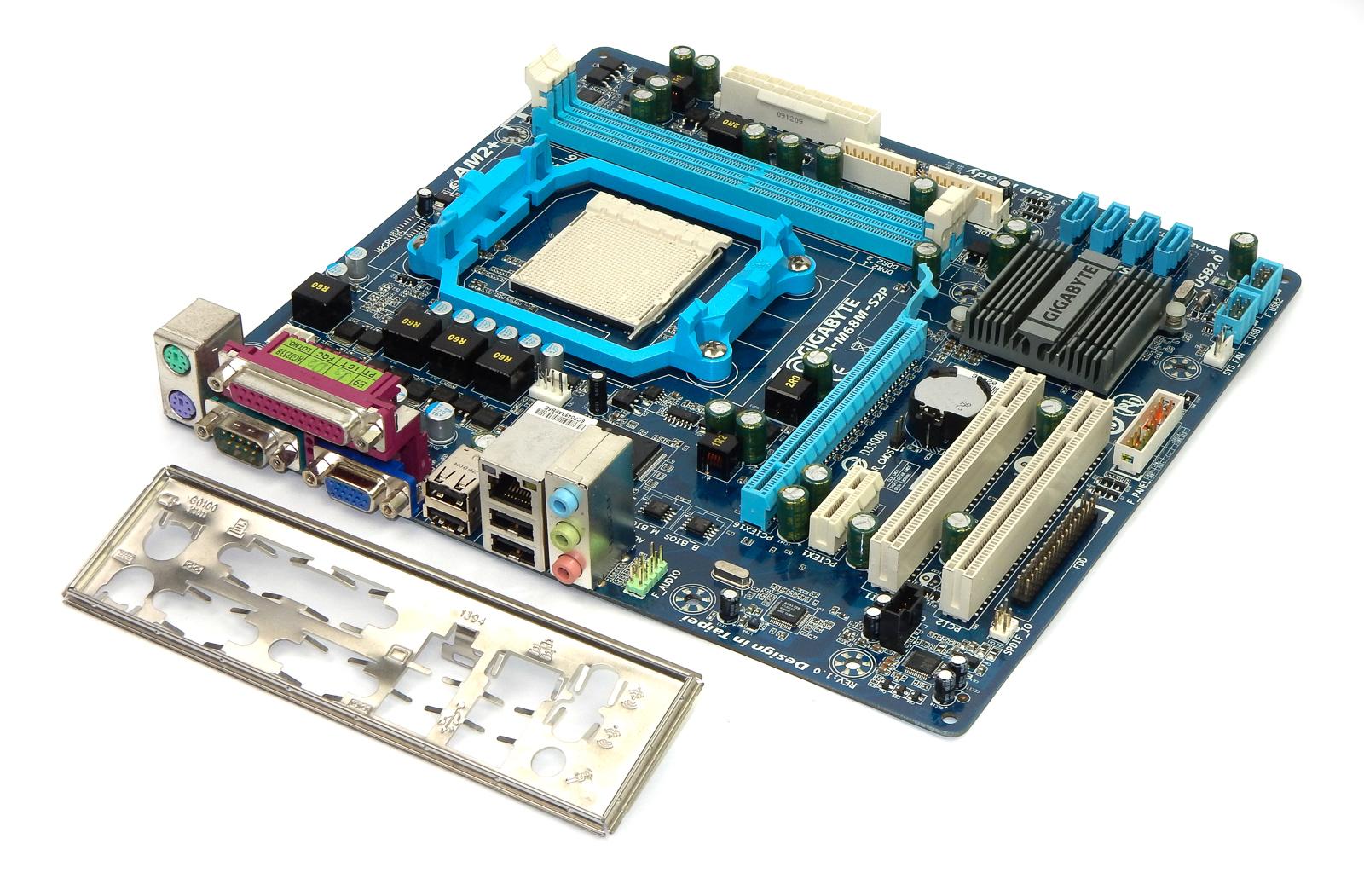 Gigabyte GA-M68MT-S2P Socket AM3 Motherboard Rev:1.0